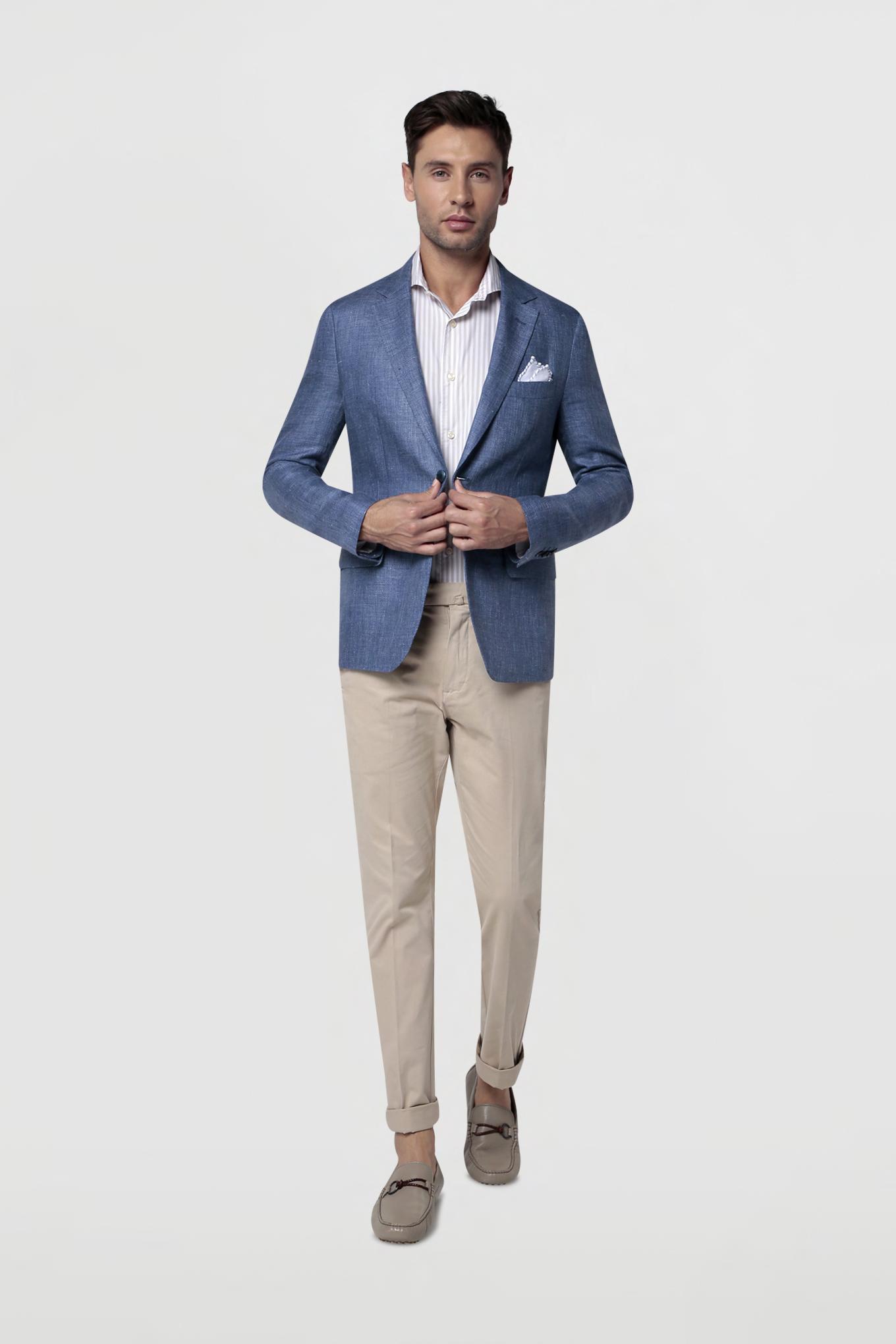 Blazer Azul Classic Homem