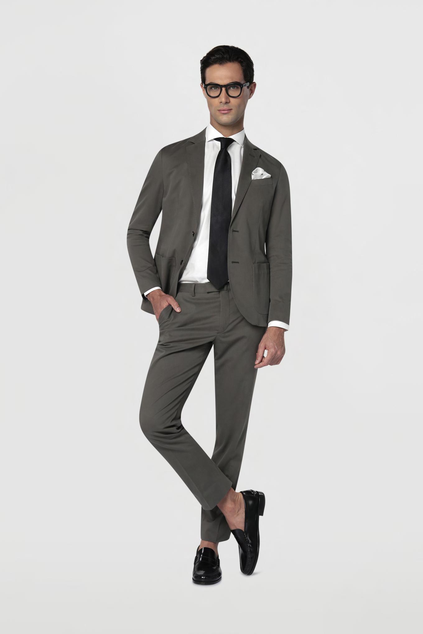 Suit Khaki Classic Man