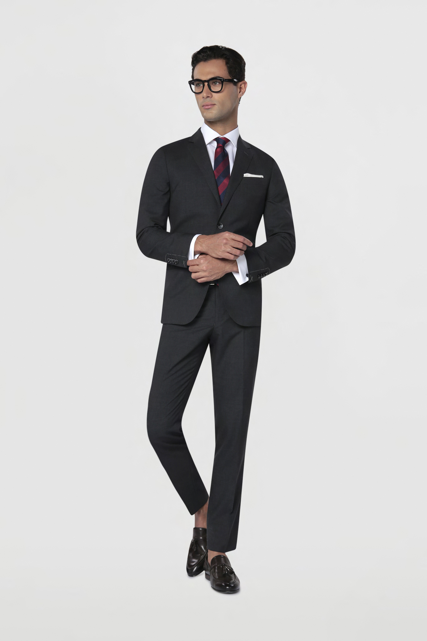 Suit Anthracite Classic Man