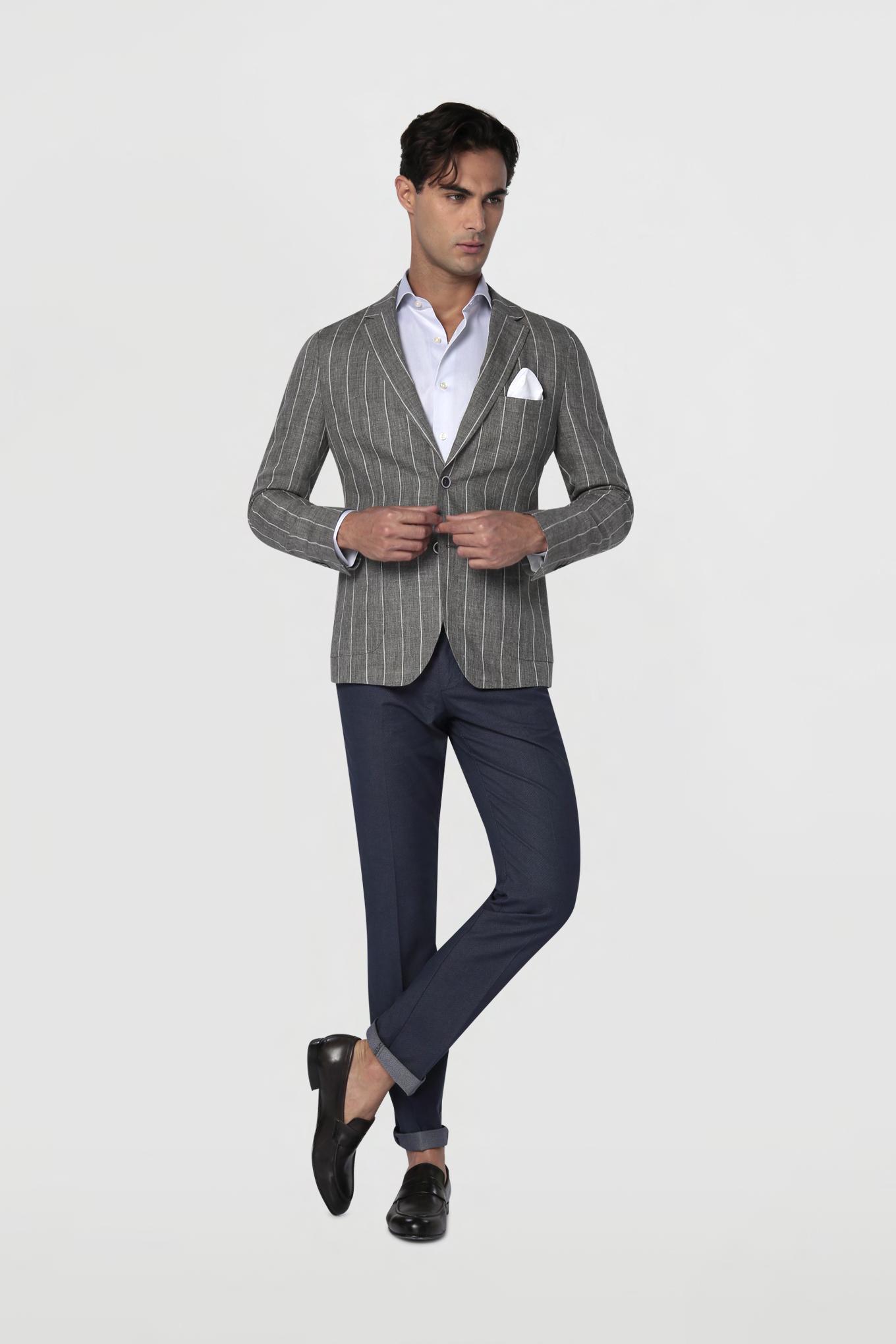 Blazer Dark Grey Classic Man