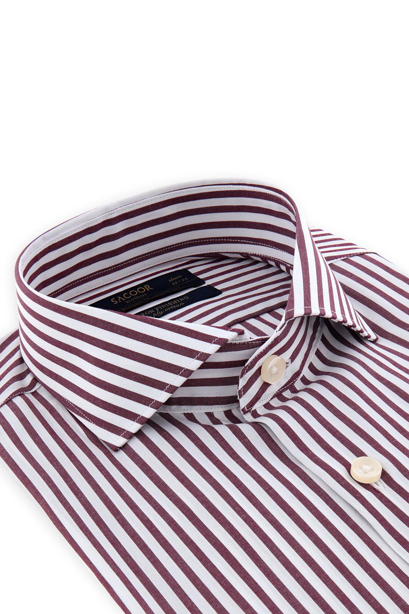Shirt Bordeaux Classic Man