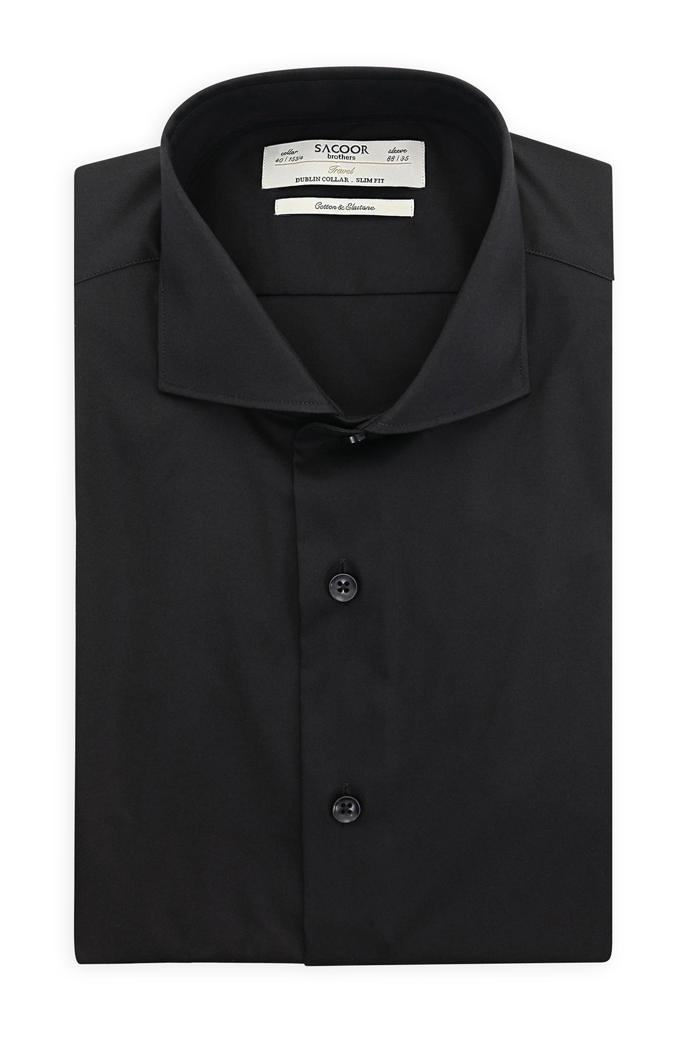 Camisa Preto Classic Homem