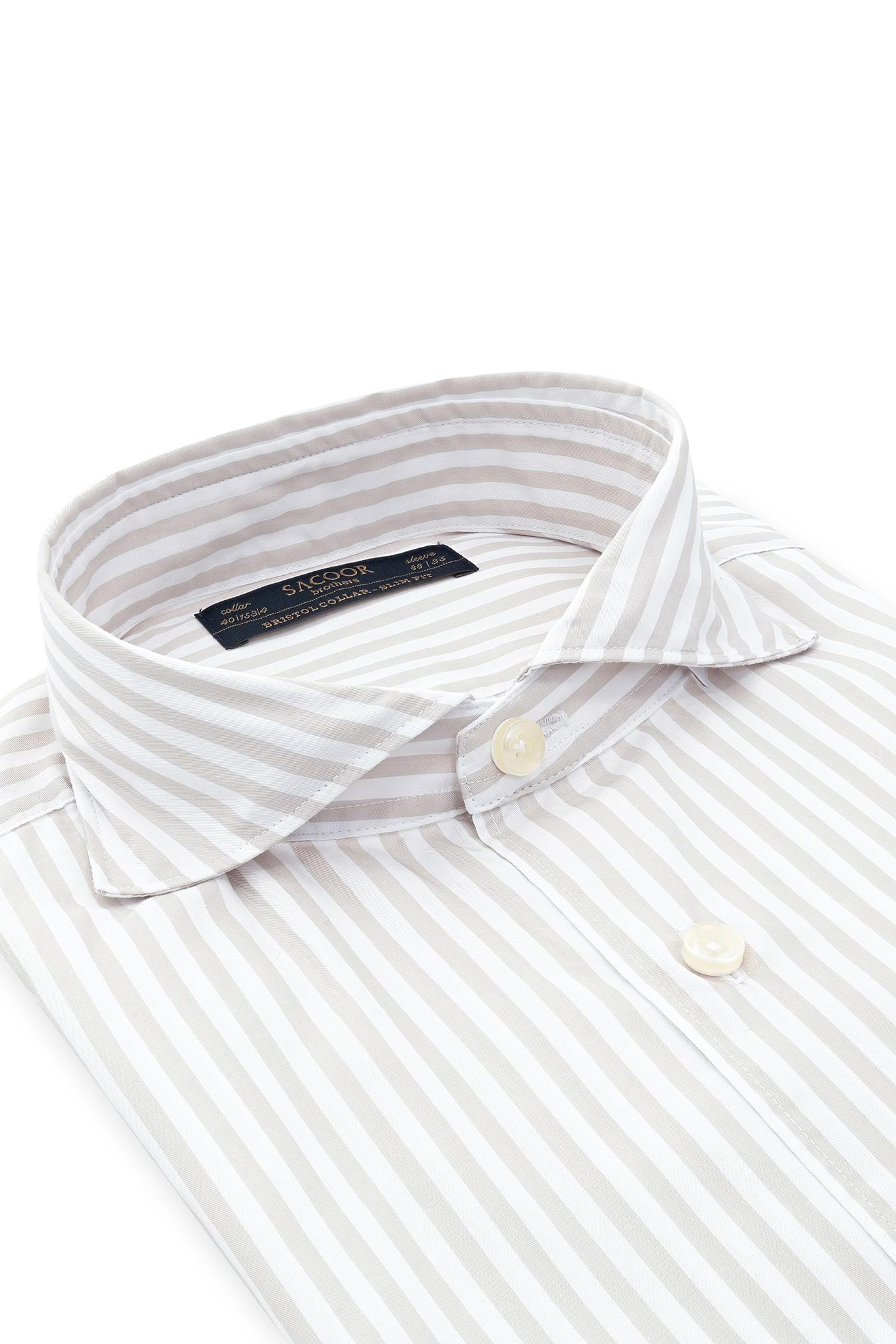 Camisa Beige Classic Homem