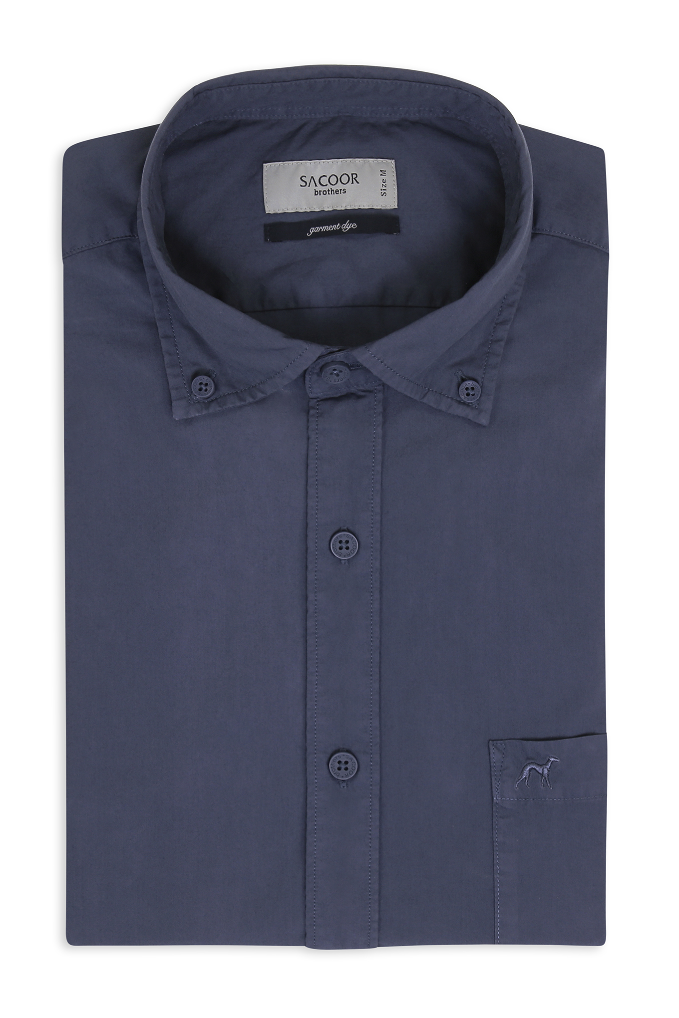 Shirt Medium Blue Sport Man