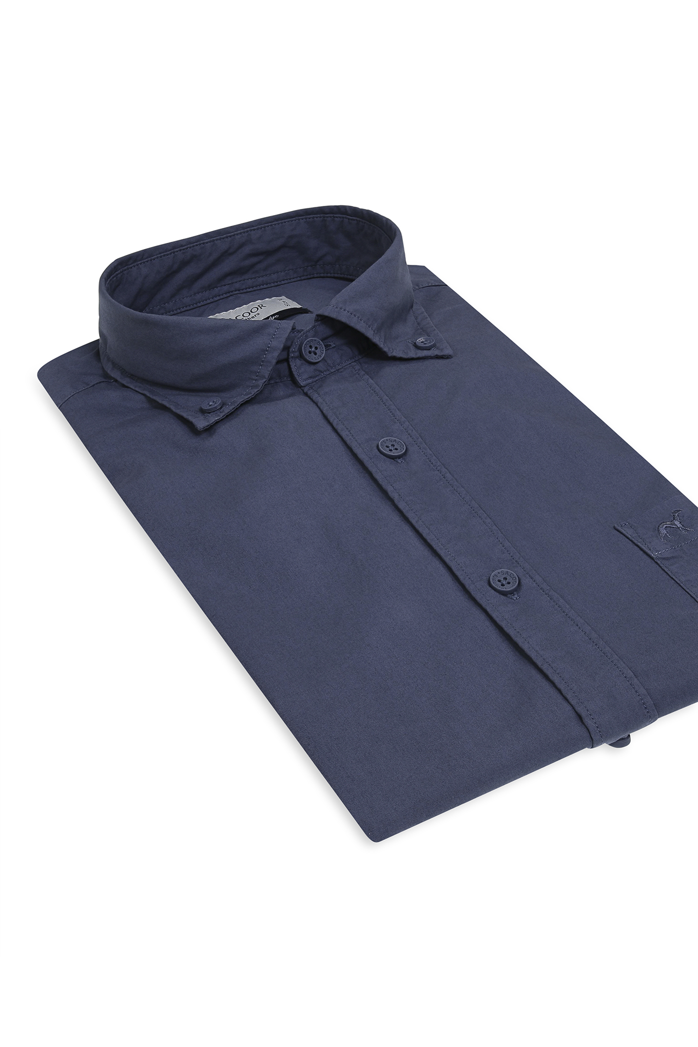 Camisa Azul Médio Sport Homem