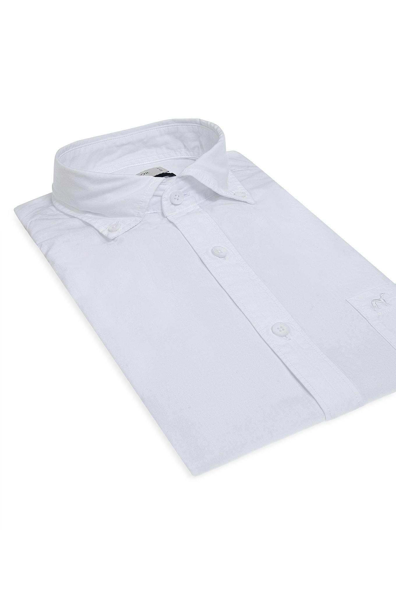 Camisa Branco Sport Homem