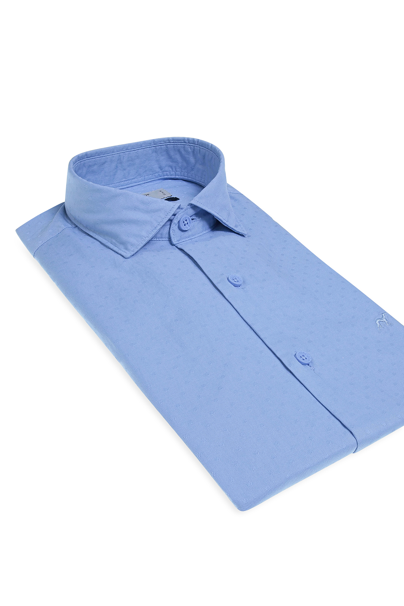 Camisa Azul Sport Homem