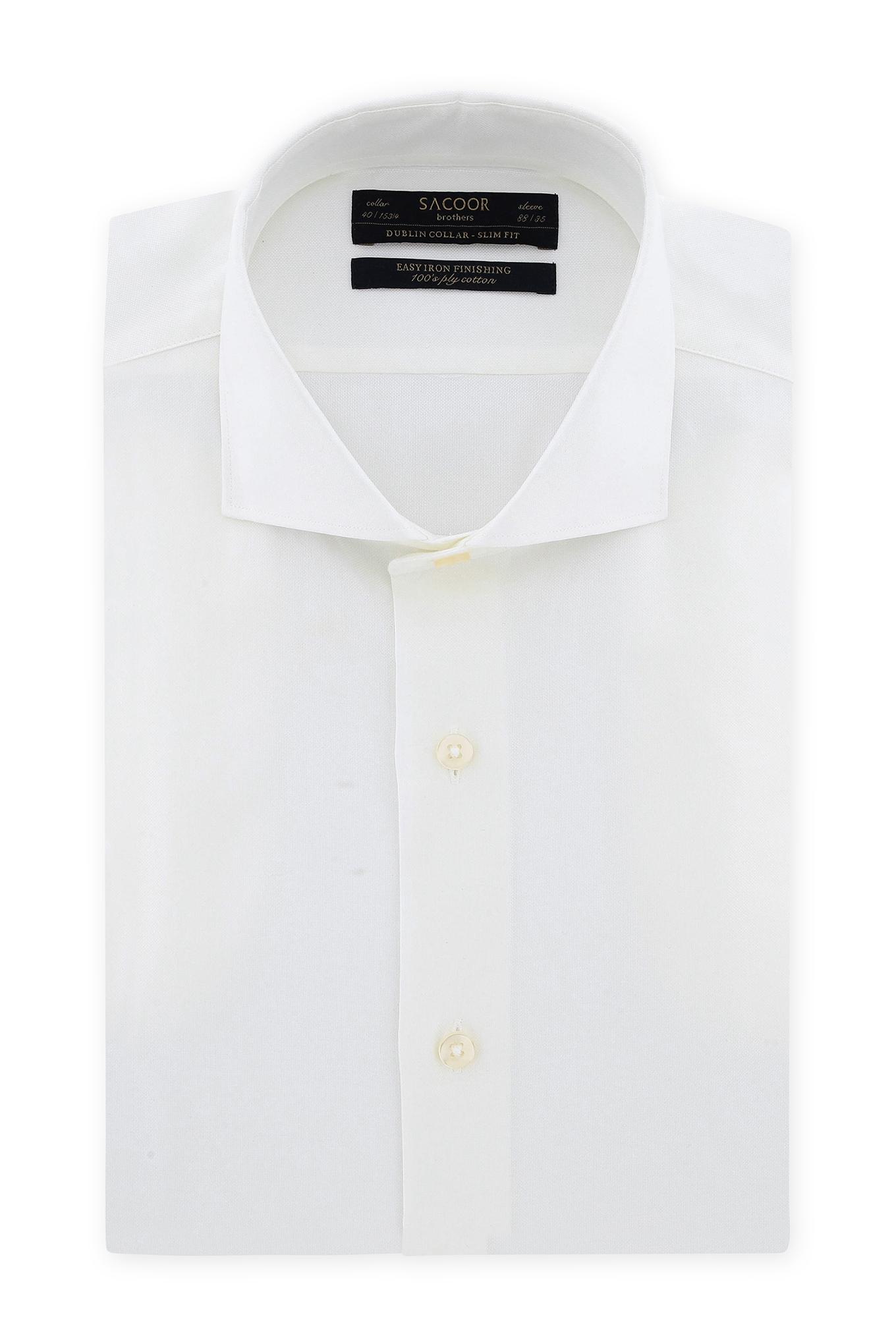 Shirt Ecru Classic Man