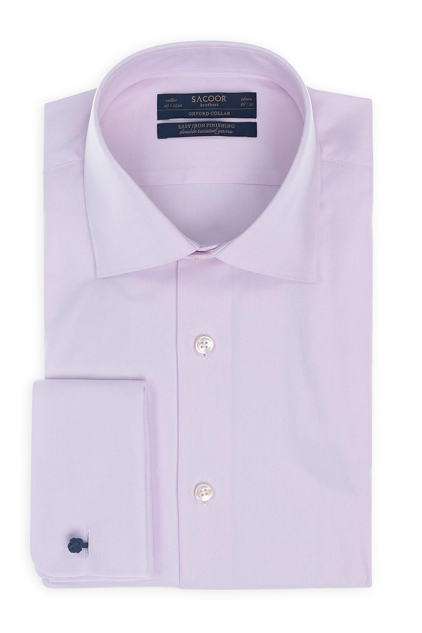 Camisa Rosa Claro Classic Homem