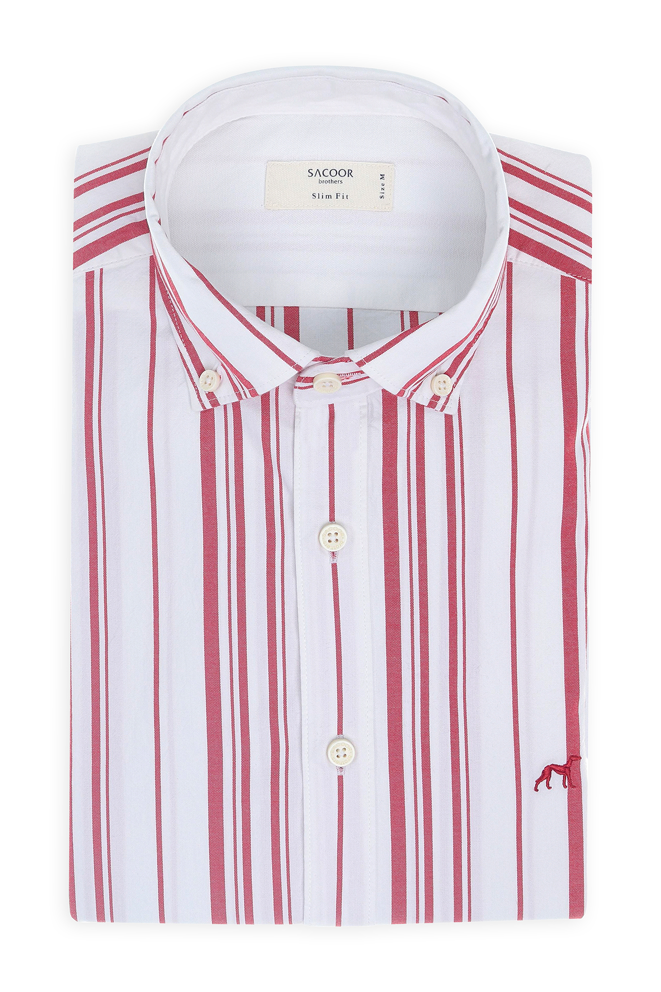 Camisa Vermelho Sport Homem