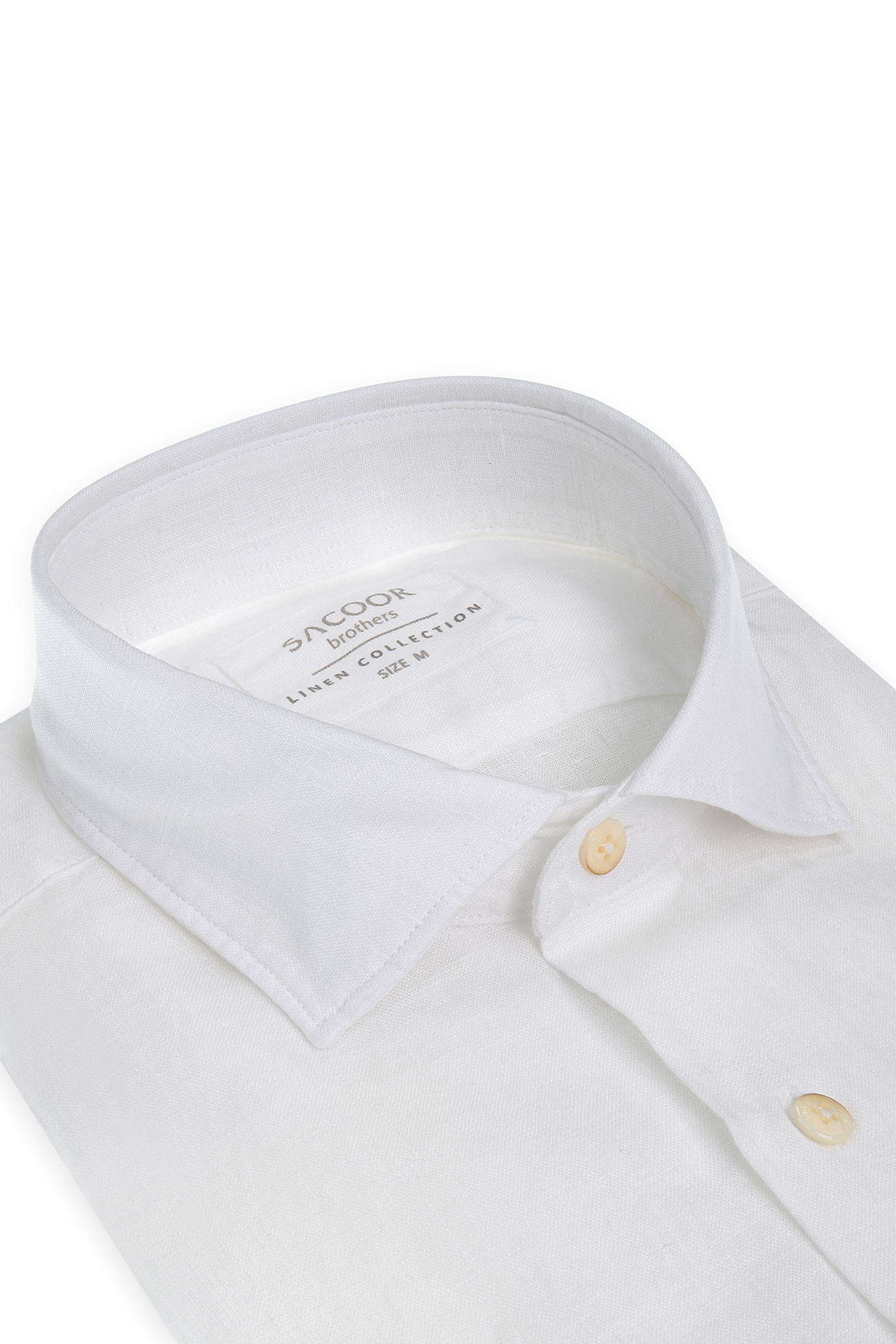 Shirt White Casual Man