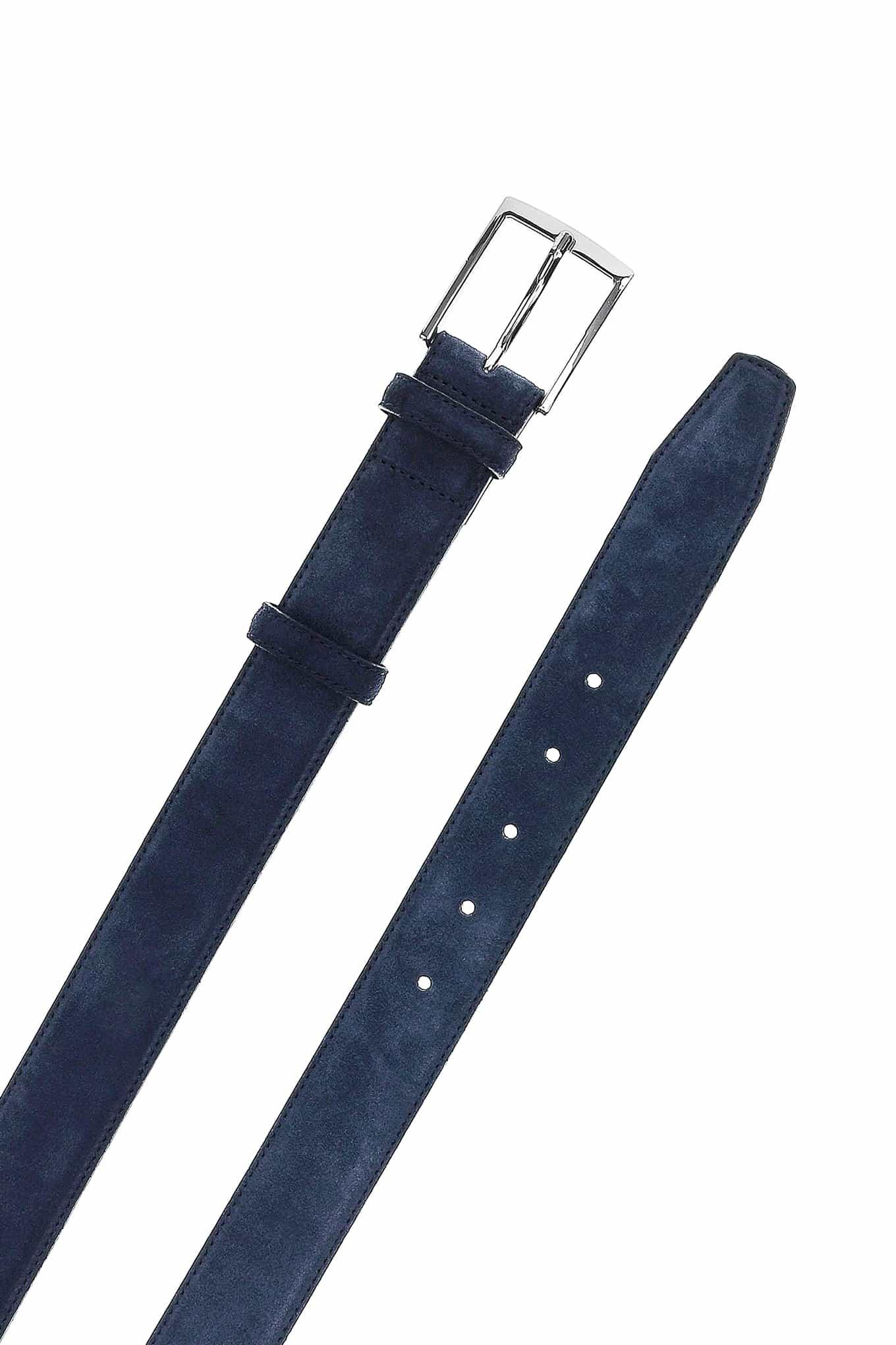 Belt Dark Blue Classic Man