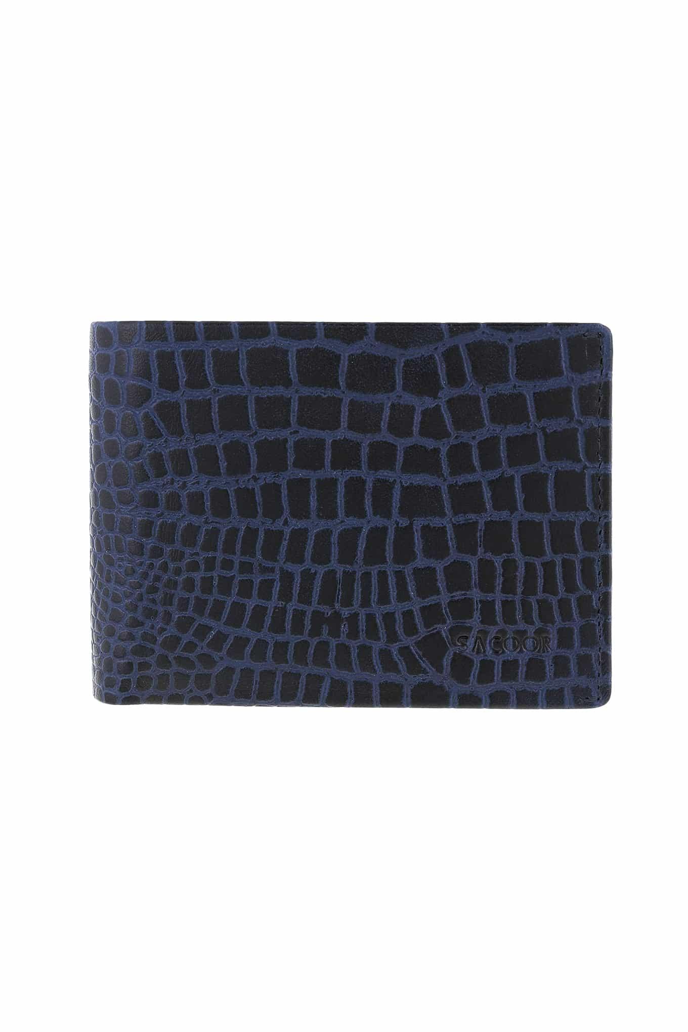Wallet Dark Blue Casual Man