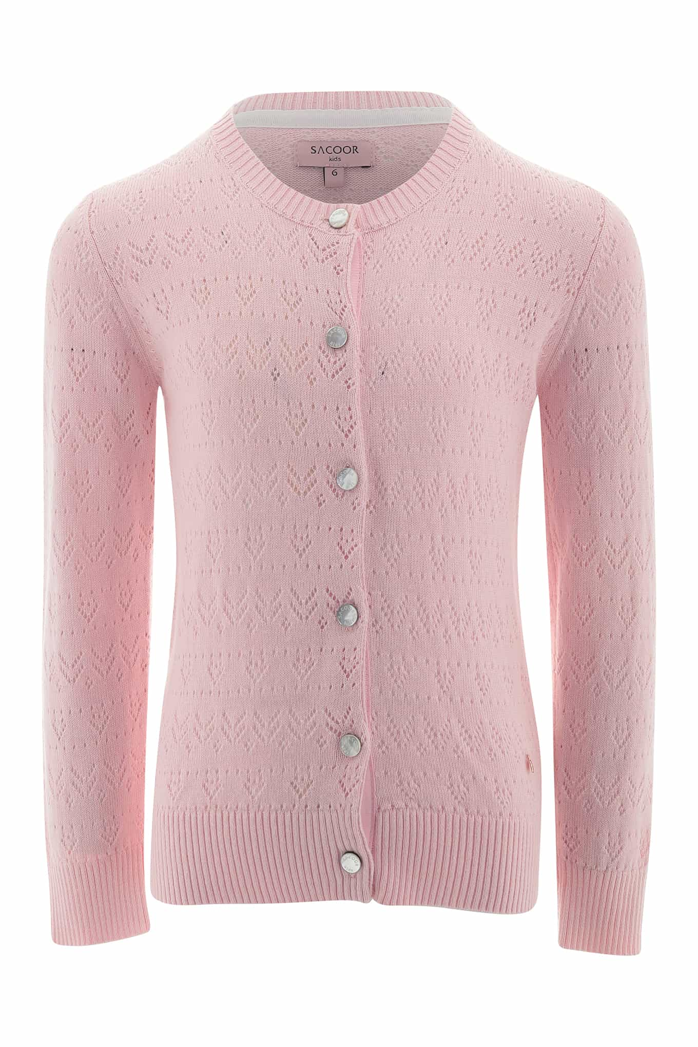 Cardigan Light Pink Casual Girl