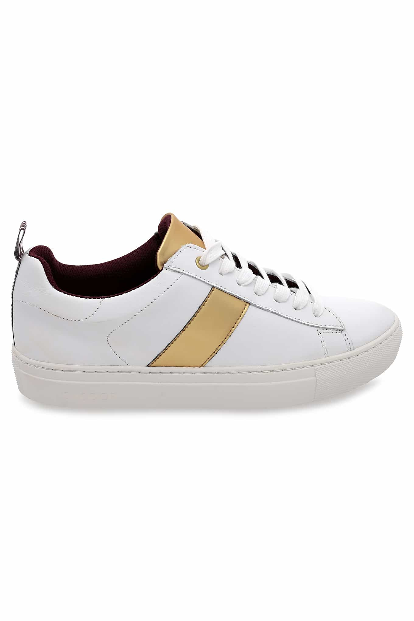 Tenis Branco Casual Mulher