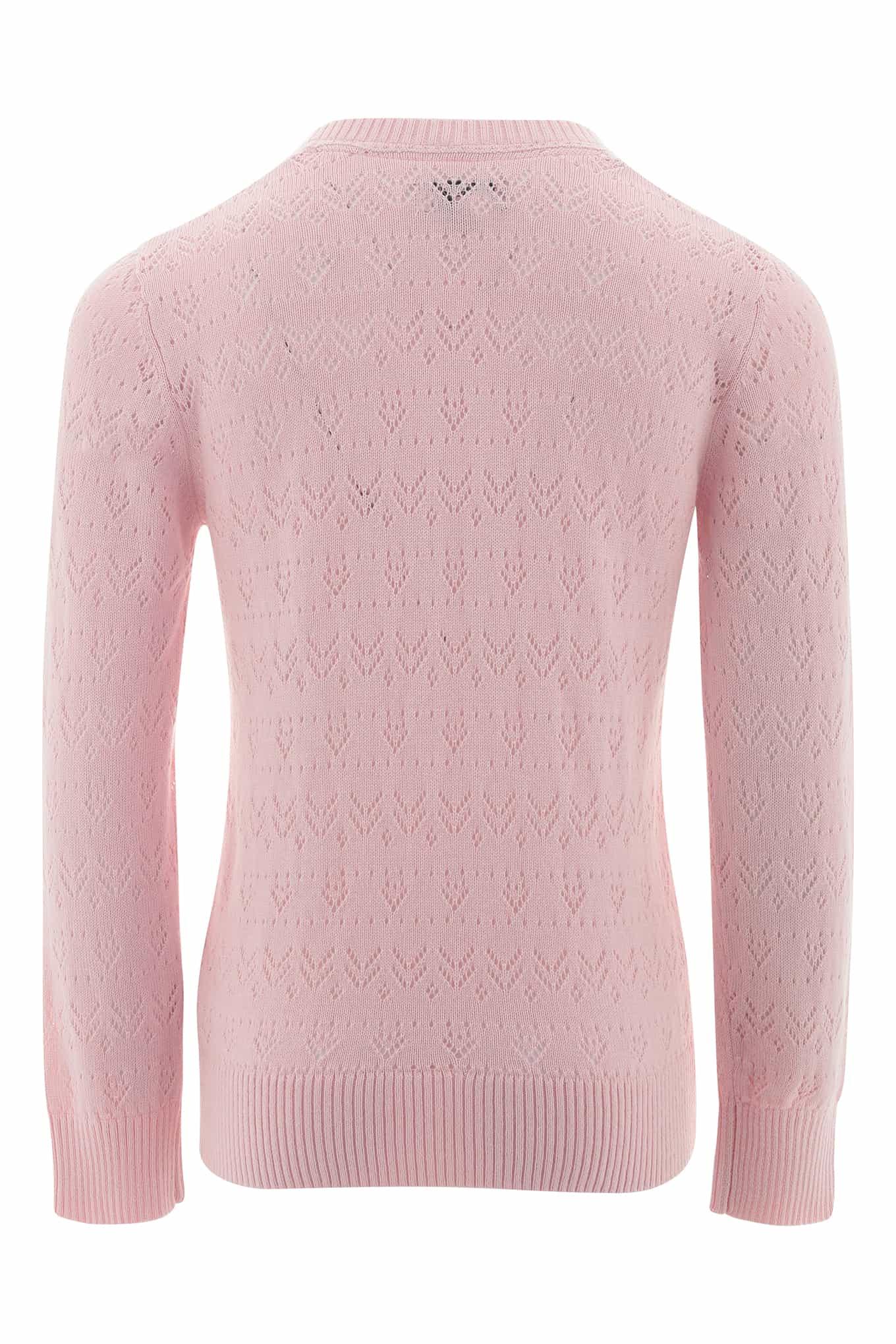 Cardigan Light Pink Casual Girl