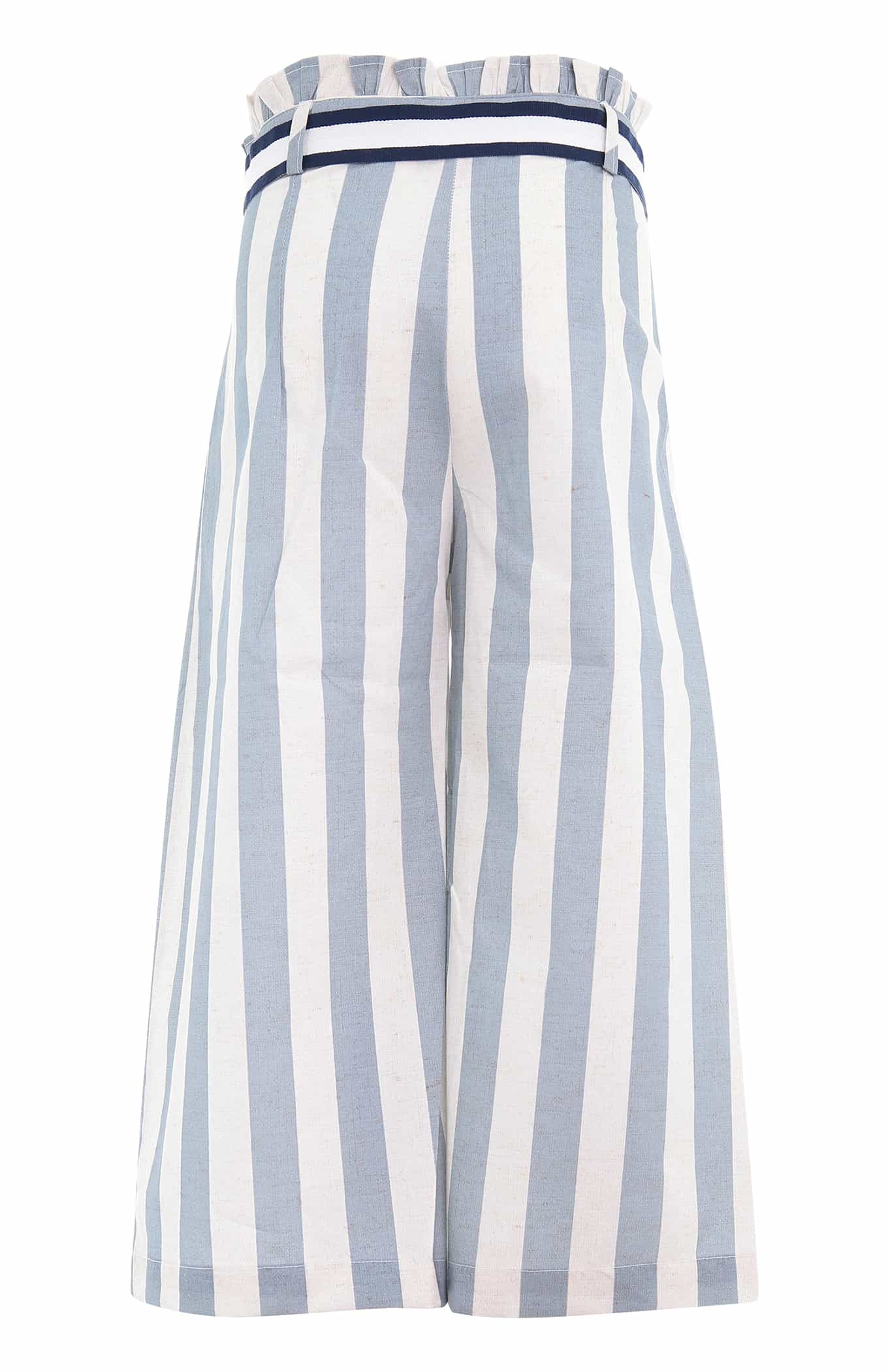 Trousers Light Blue Casual Girl