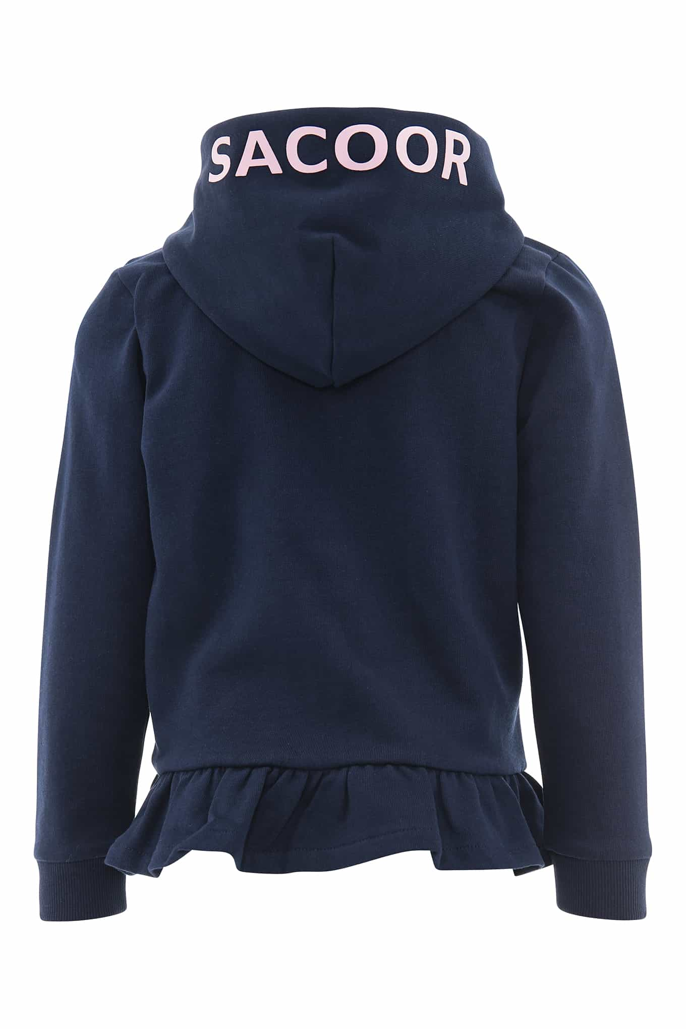 Sweatshirt Dark Blue Casual Girl