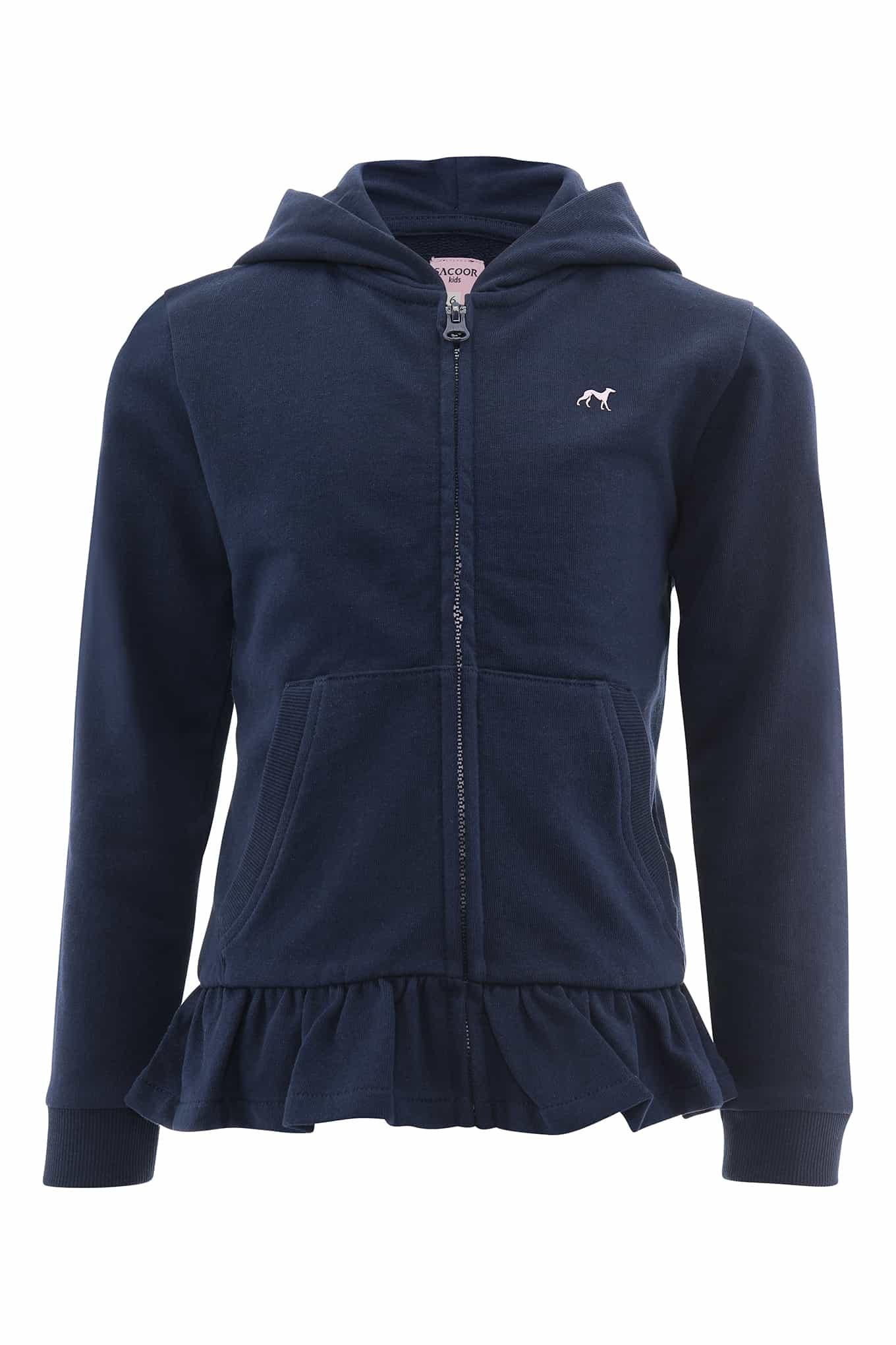 Sweatshirt Dark Blue Casual Girl