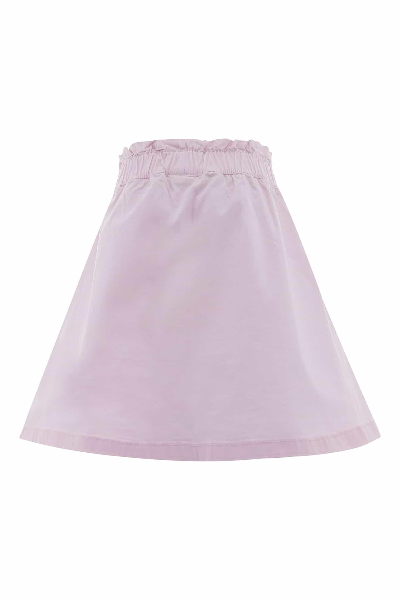 Skirt Light Pink Casual Girl