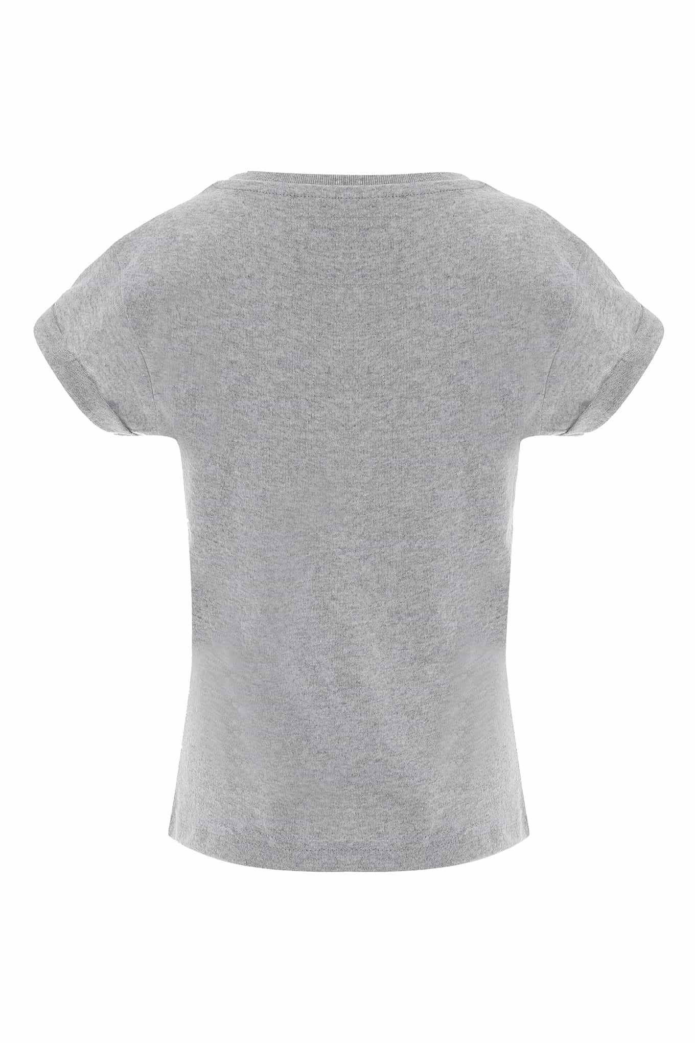 T-Shirt Cinza Claro Sport Rapariga