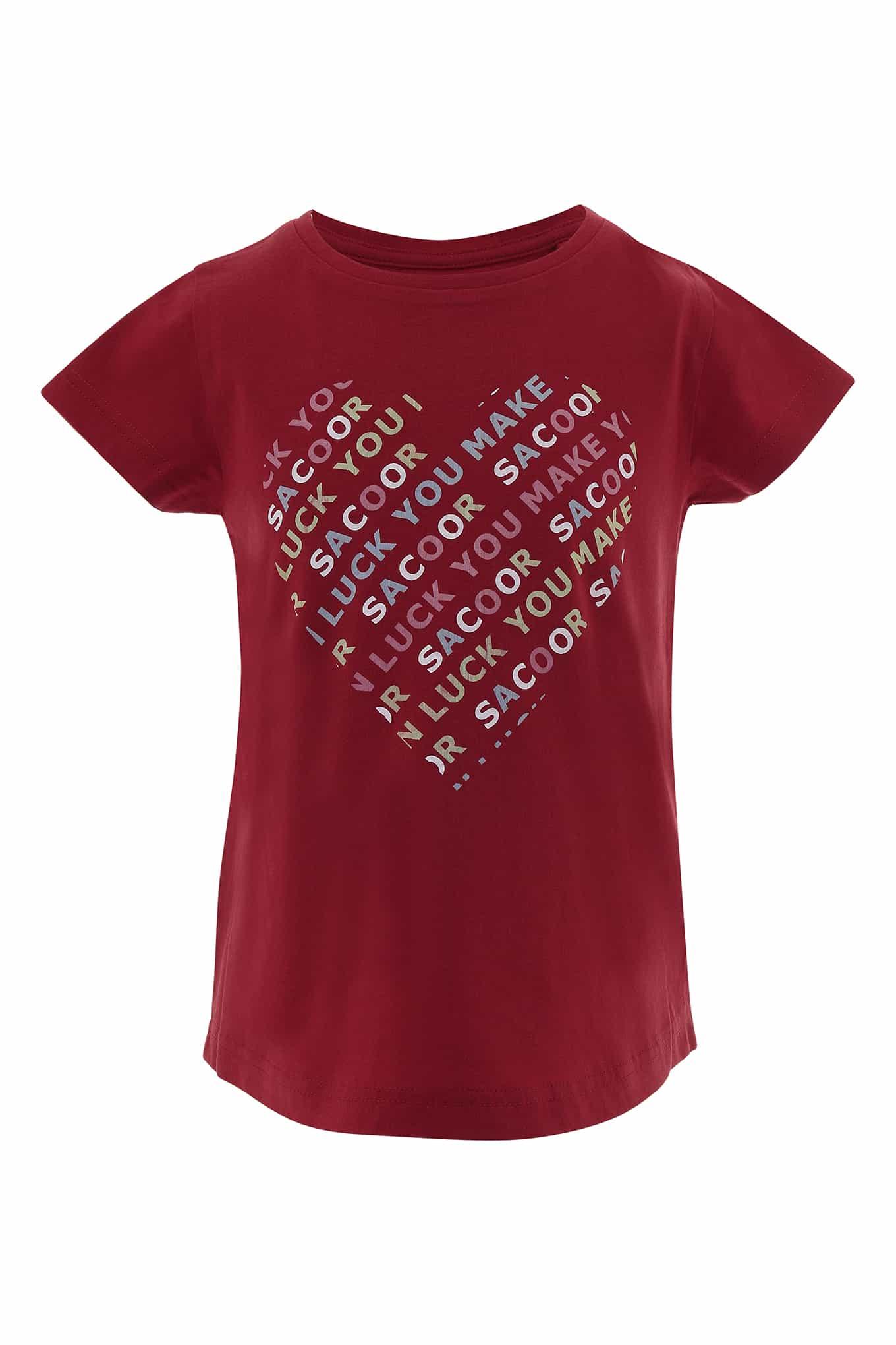 T-Shirt Vermelho Sport Rapariga