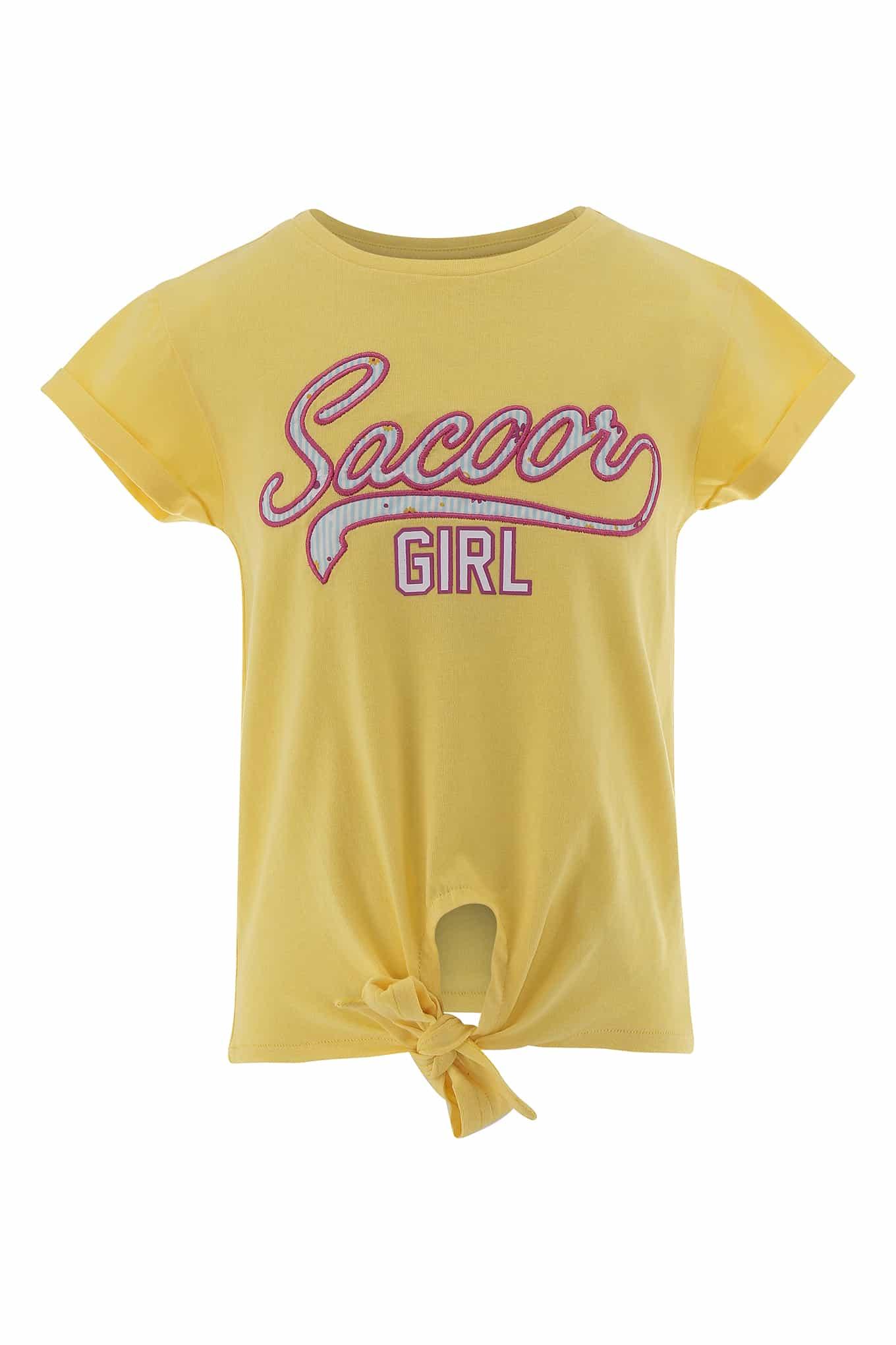 T-Shirt Light Yellow Sport Girl
