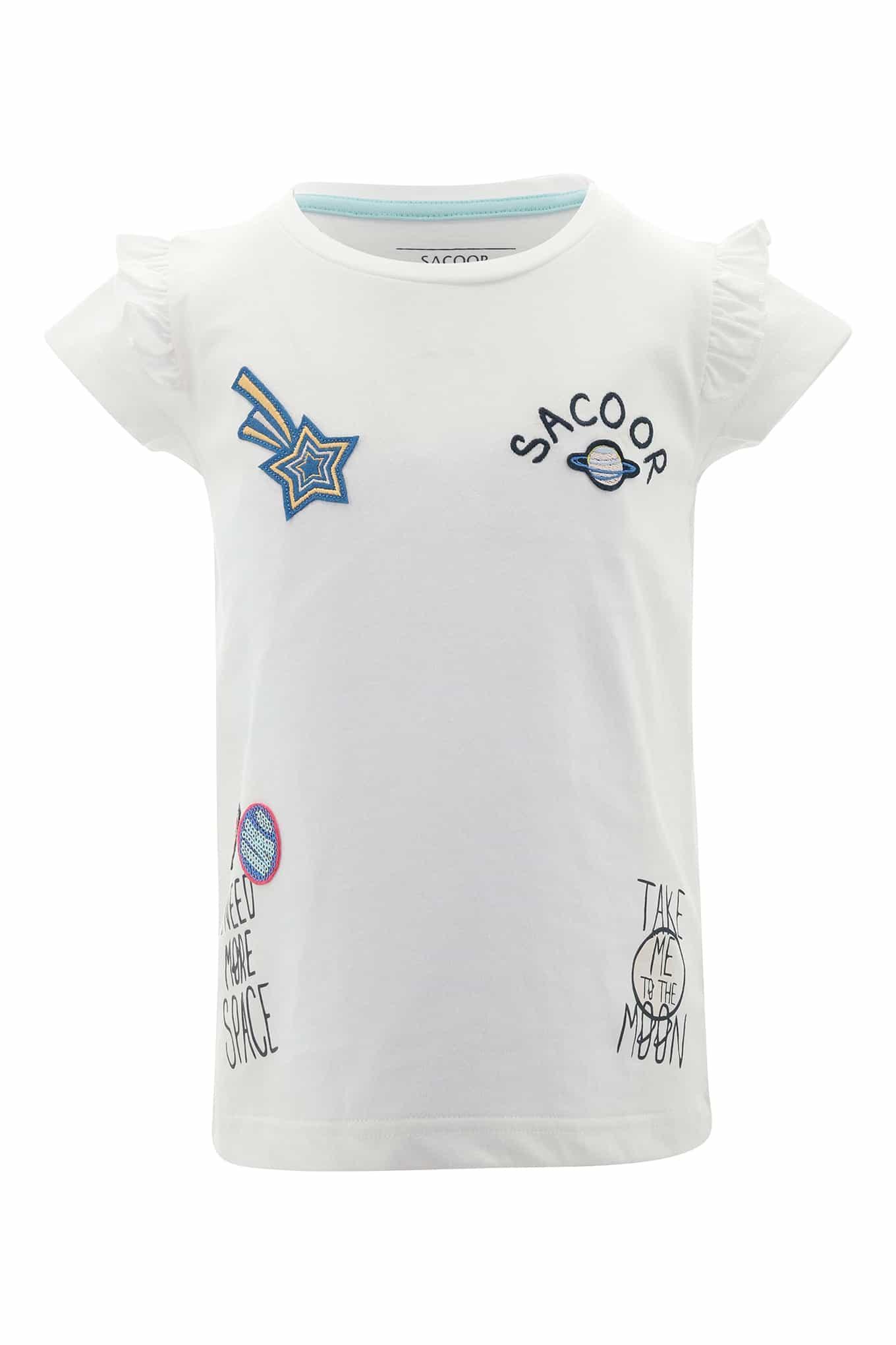 T-Shirt Branco Sport Rapariga