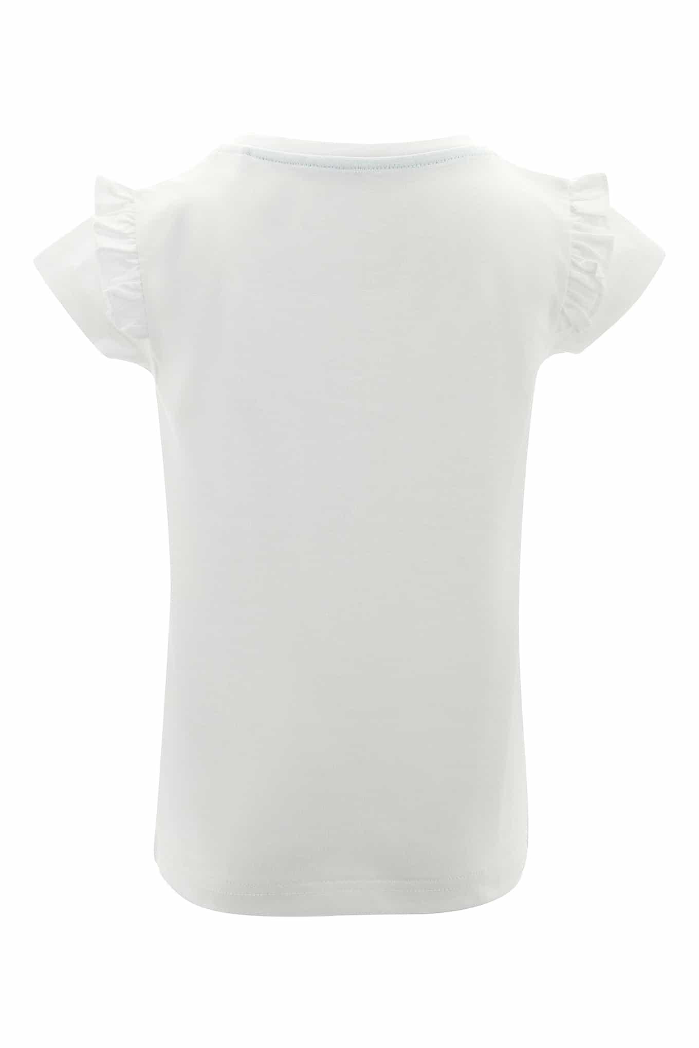 T-Shirt White Sport Girl
