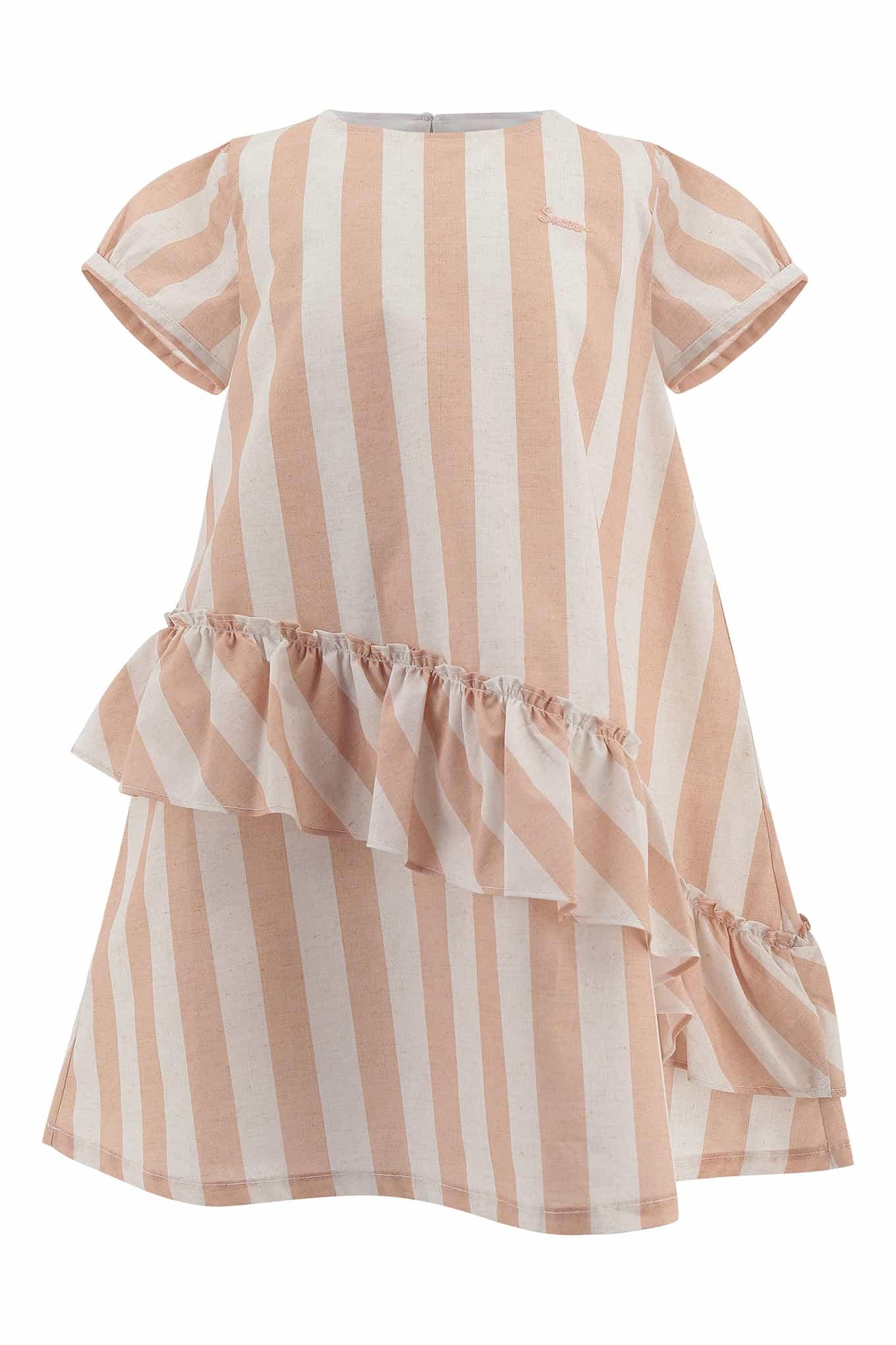 Dress Light Pink Casual Girl