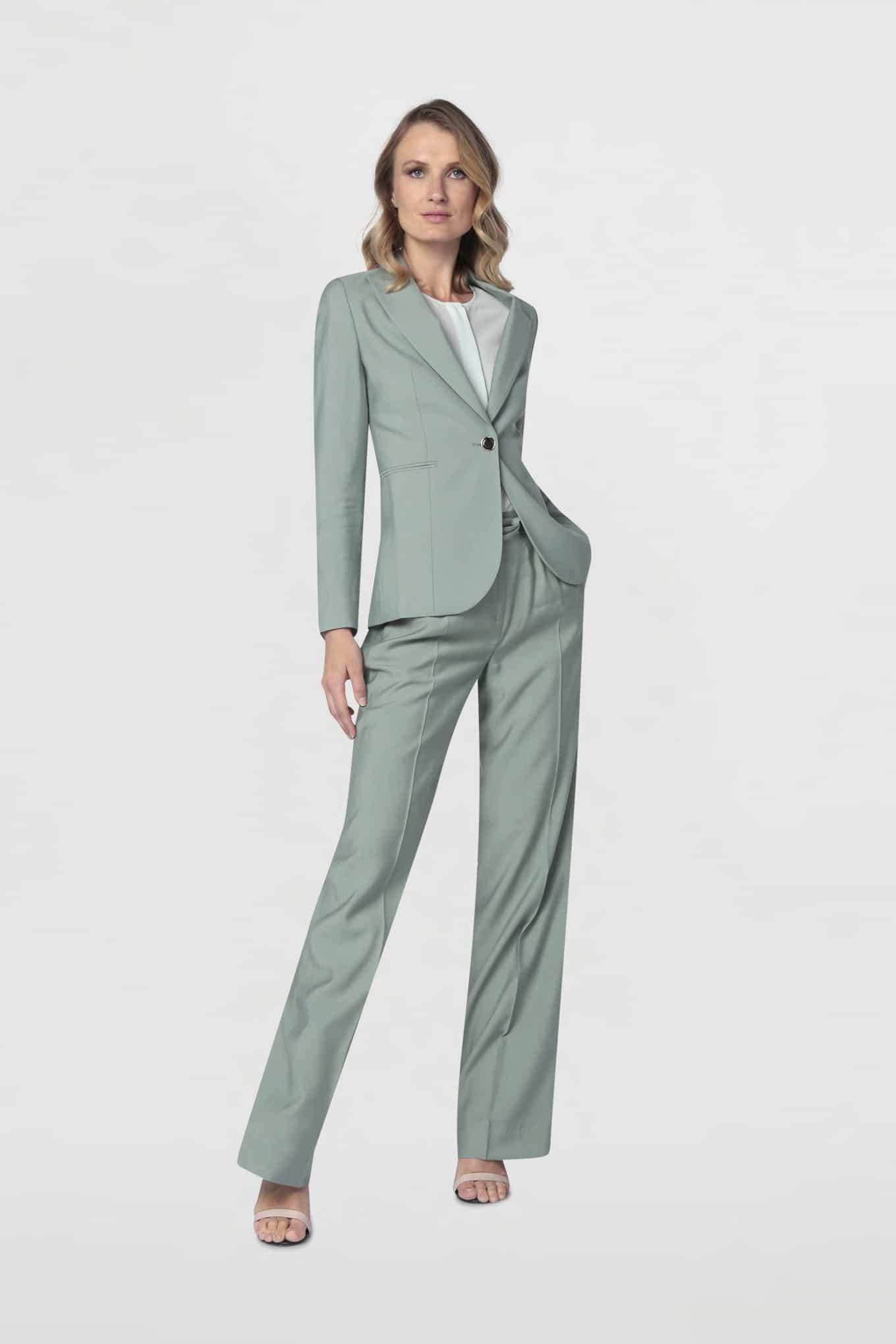 Trousers Mint Classic Woman