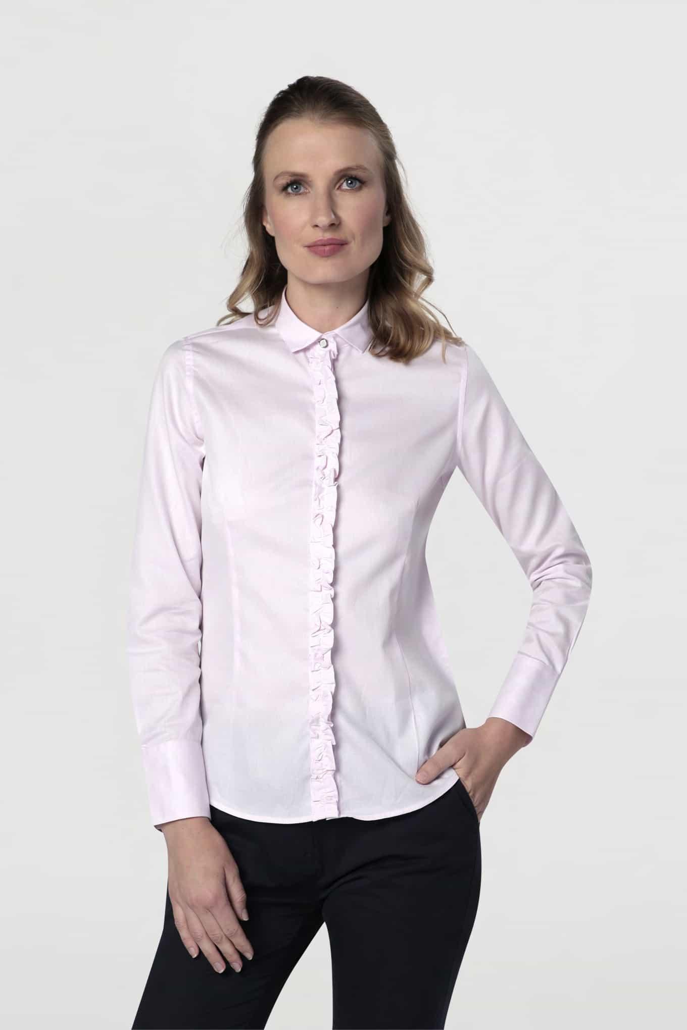 Shirt Pink Classic Woman