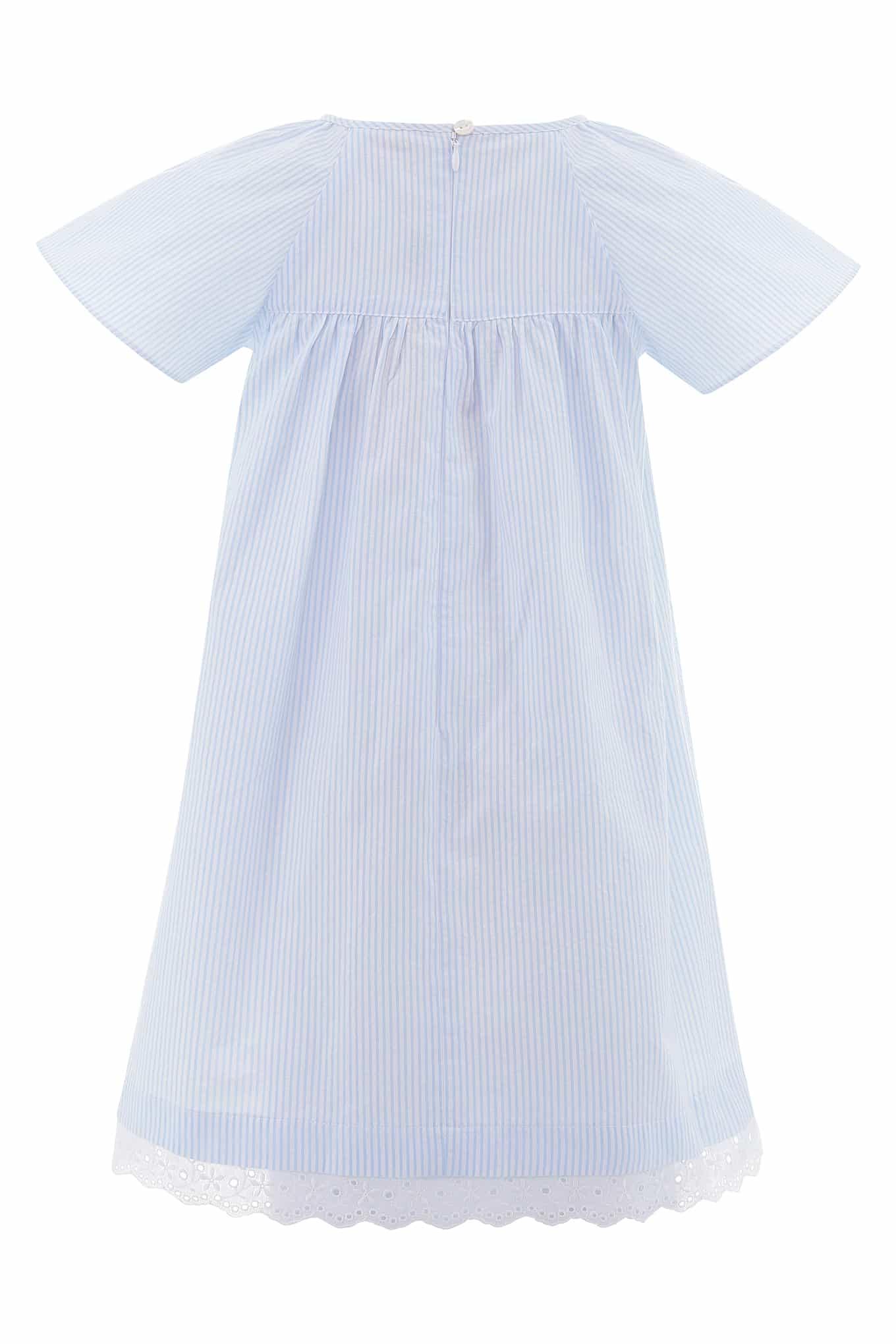 Dress Light Blue Casual Girl