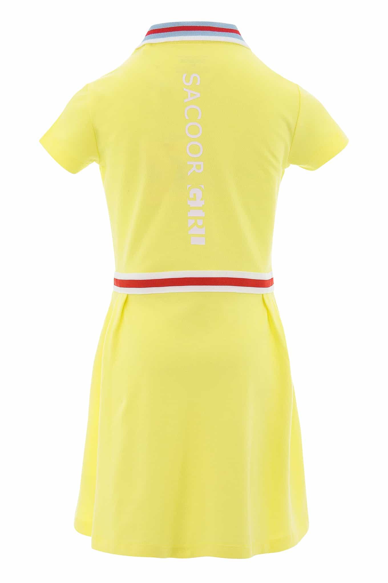 Vestido Piquet Limonada Sport Rapariga