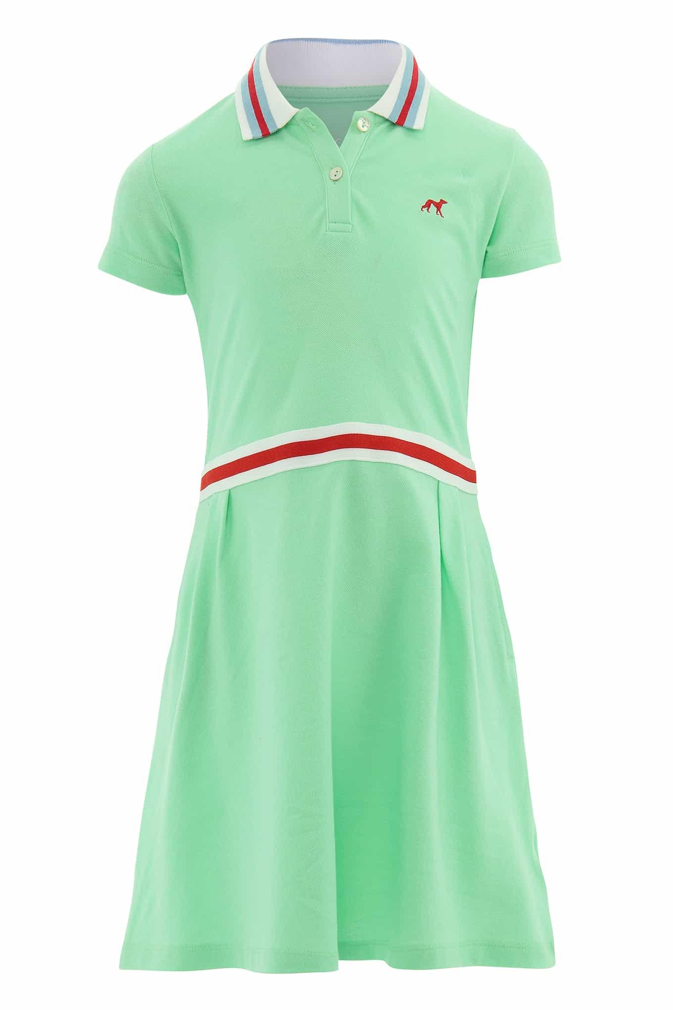 Vestido Piquet Menta Sport Rapariga