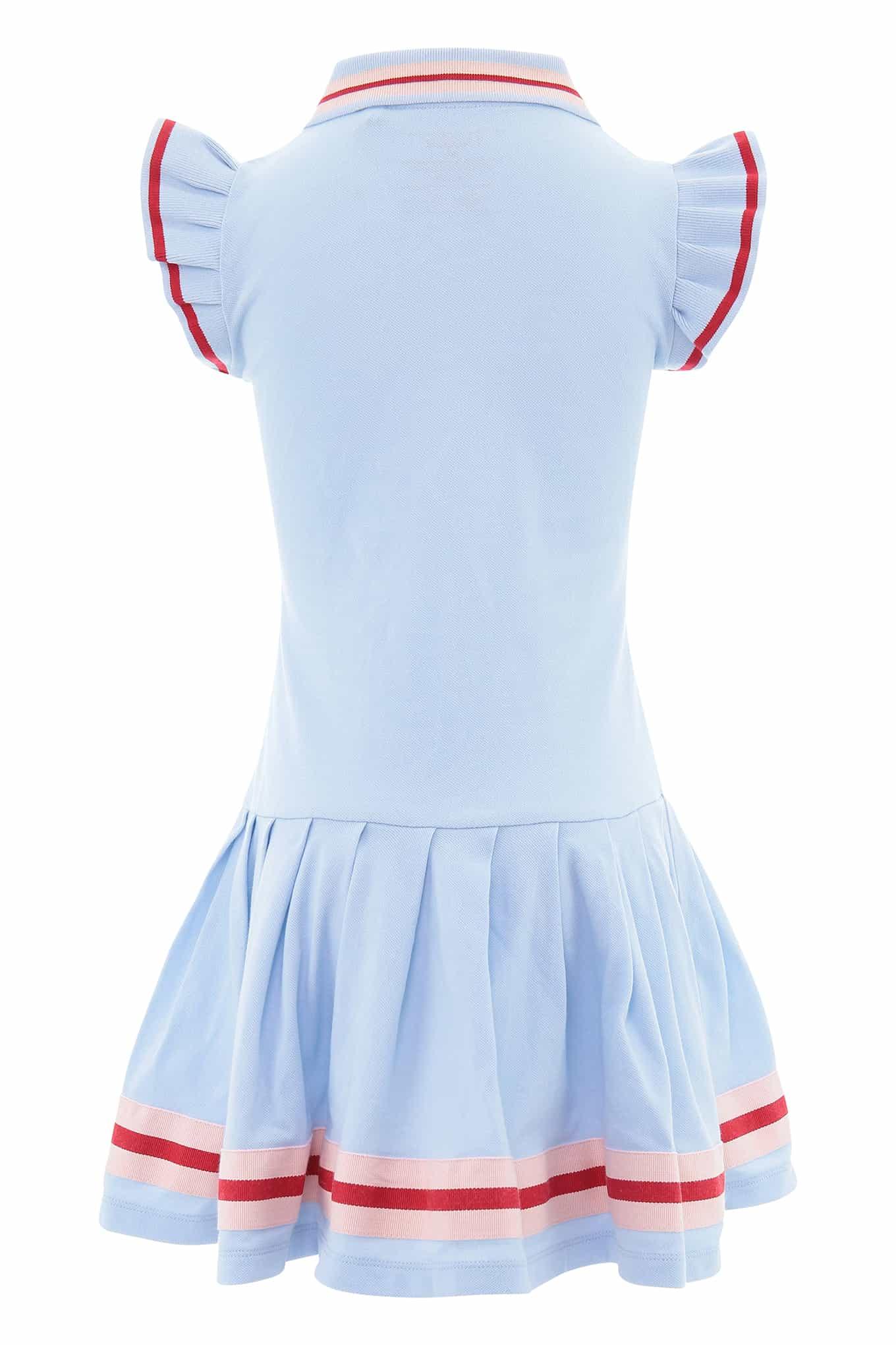 Dress Piquet Light Blue Sport Girl