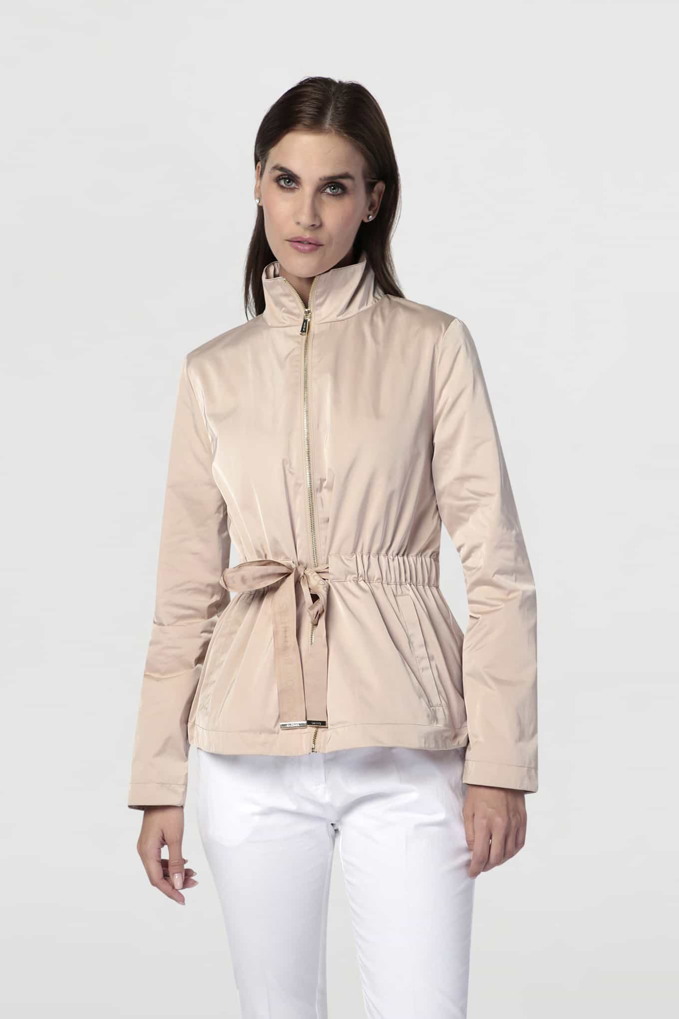 Jacket Beige Casual Woman