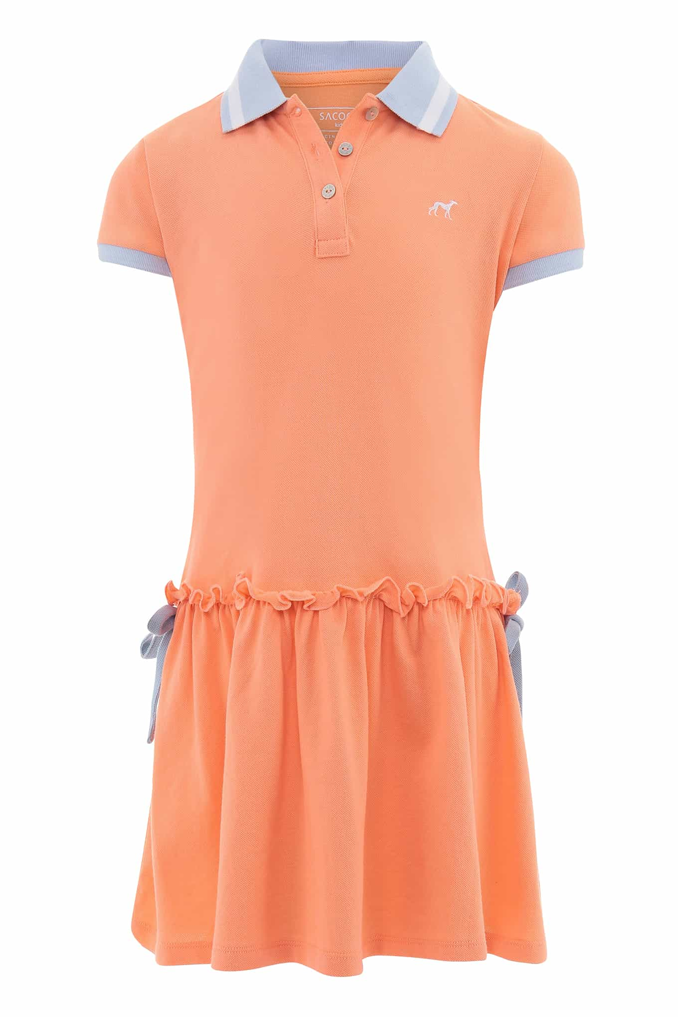 Dress Piquet Salmon Sport Girl