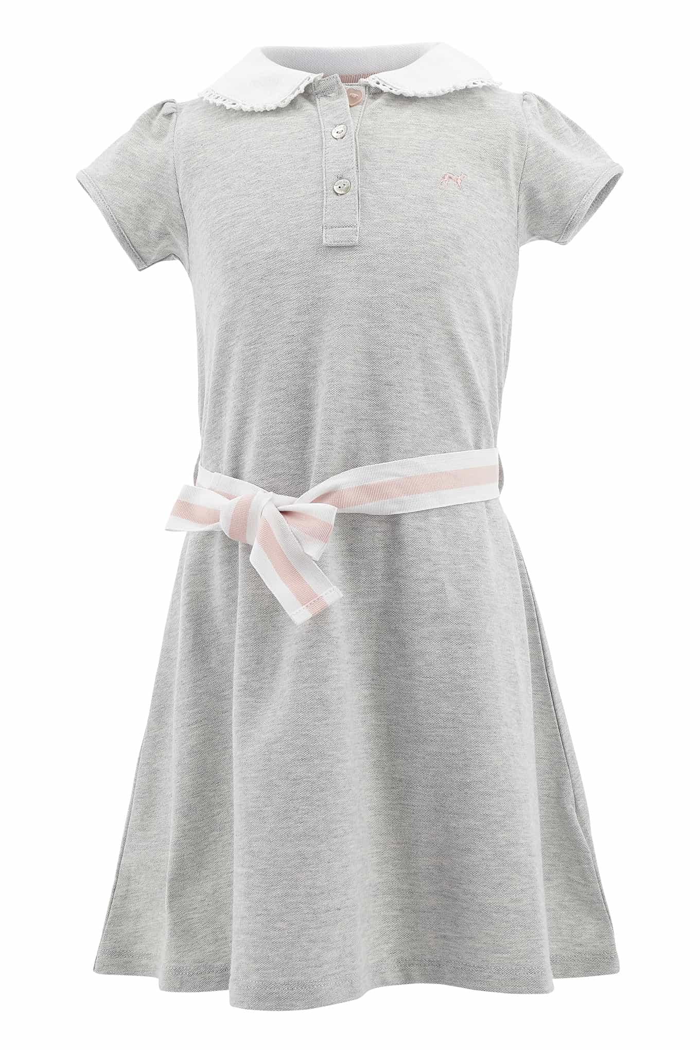 Dress Piquet Light Grey Sport Girl