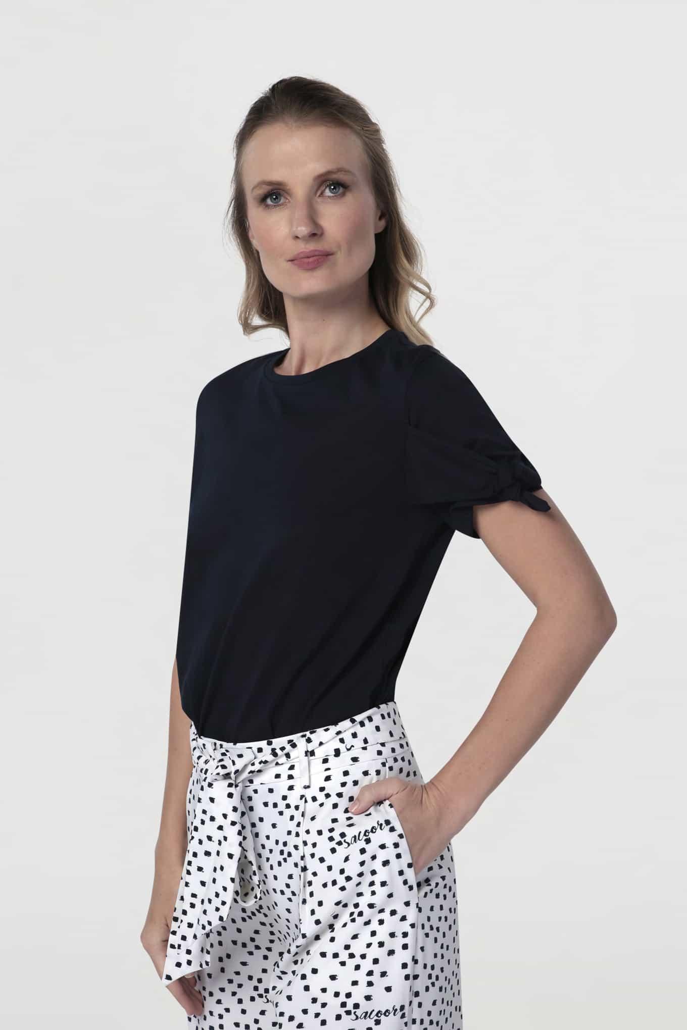 T-Shirt Dark Blue Sport Woman