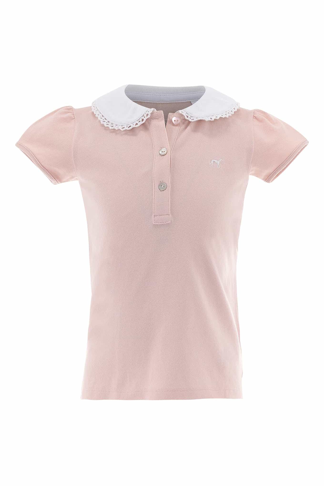 Polo Piquet Light Pink Sport Girl