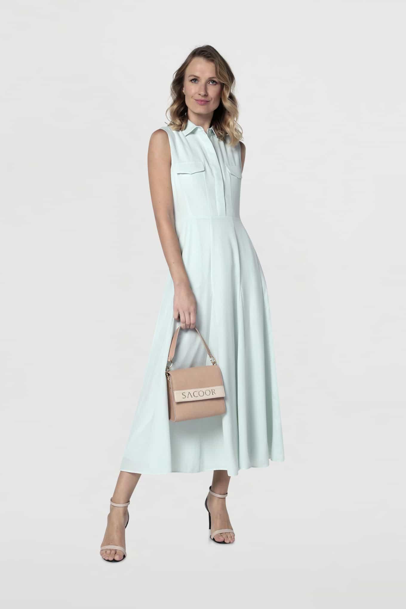 Dress Turquoise Fantasy Woman
