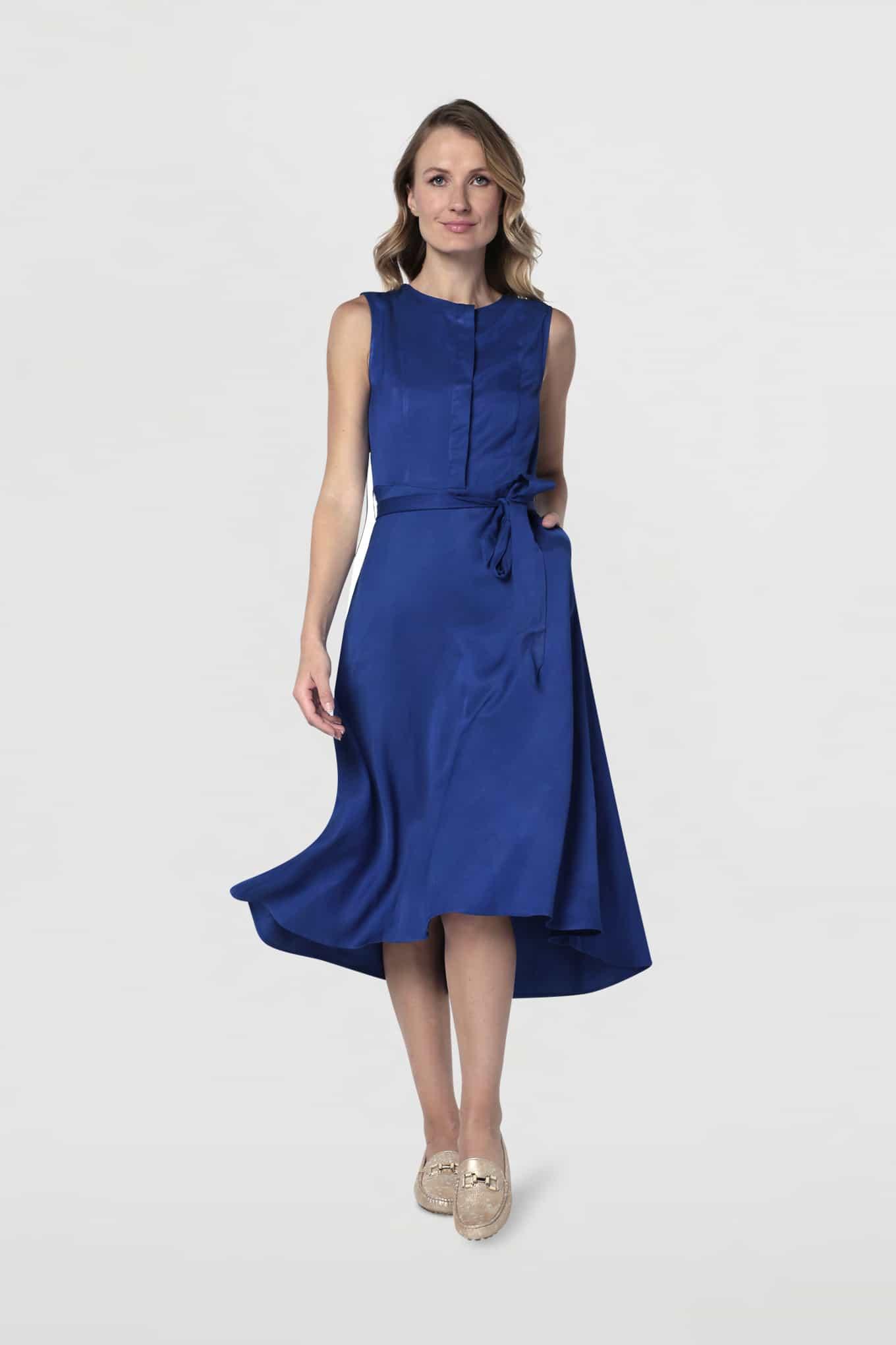 Vestido Azul Royal Fantasy Mulher