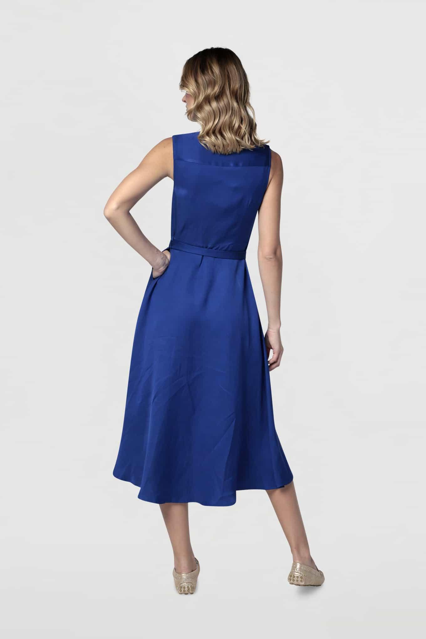 Dress Royal Blue Fantasy Woman