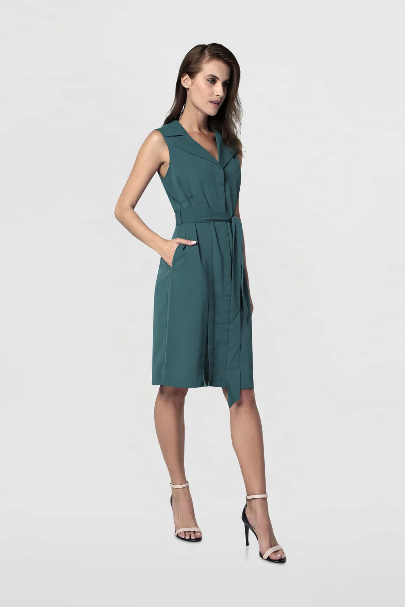 Dress Green Fantasy Woman