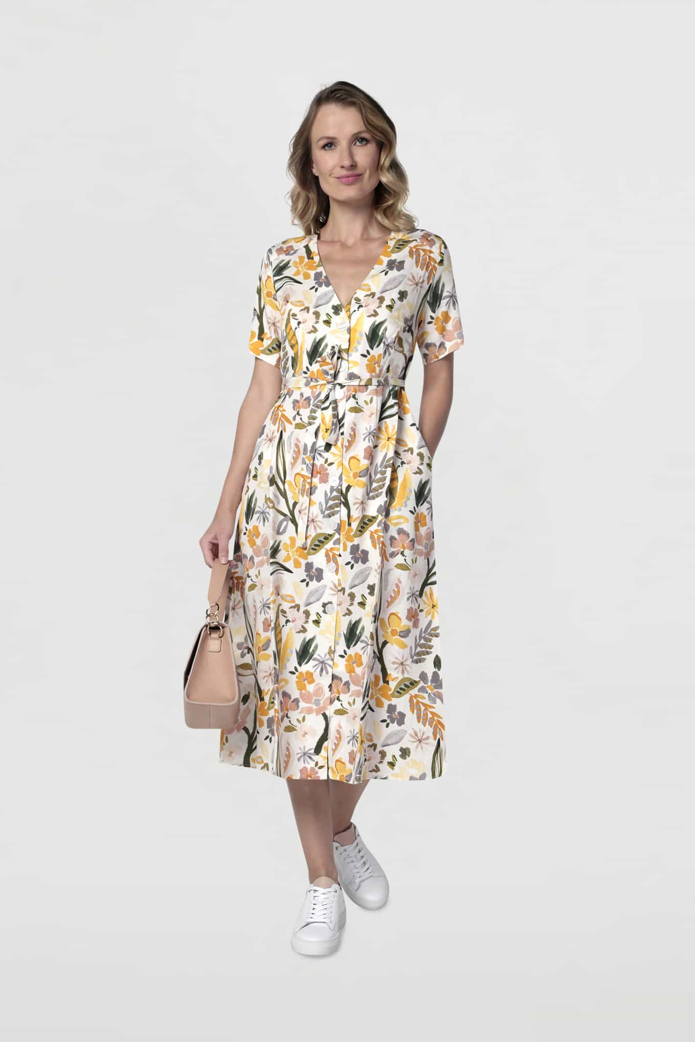 Dress Print Fantasy Woman