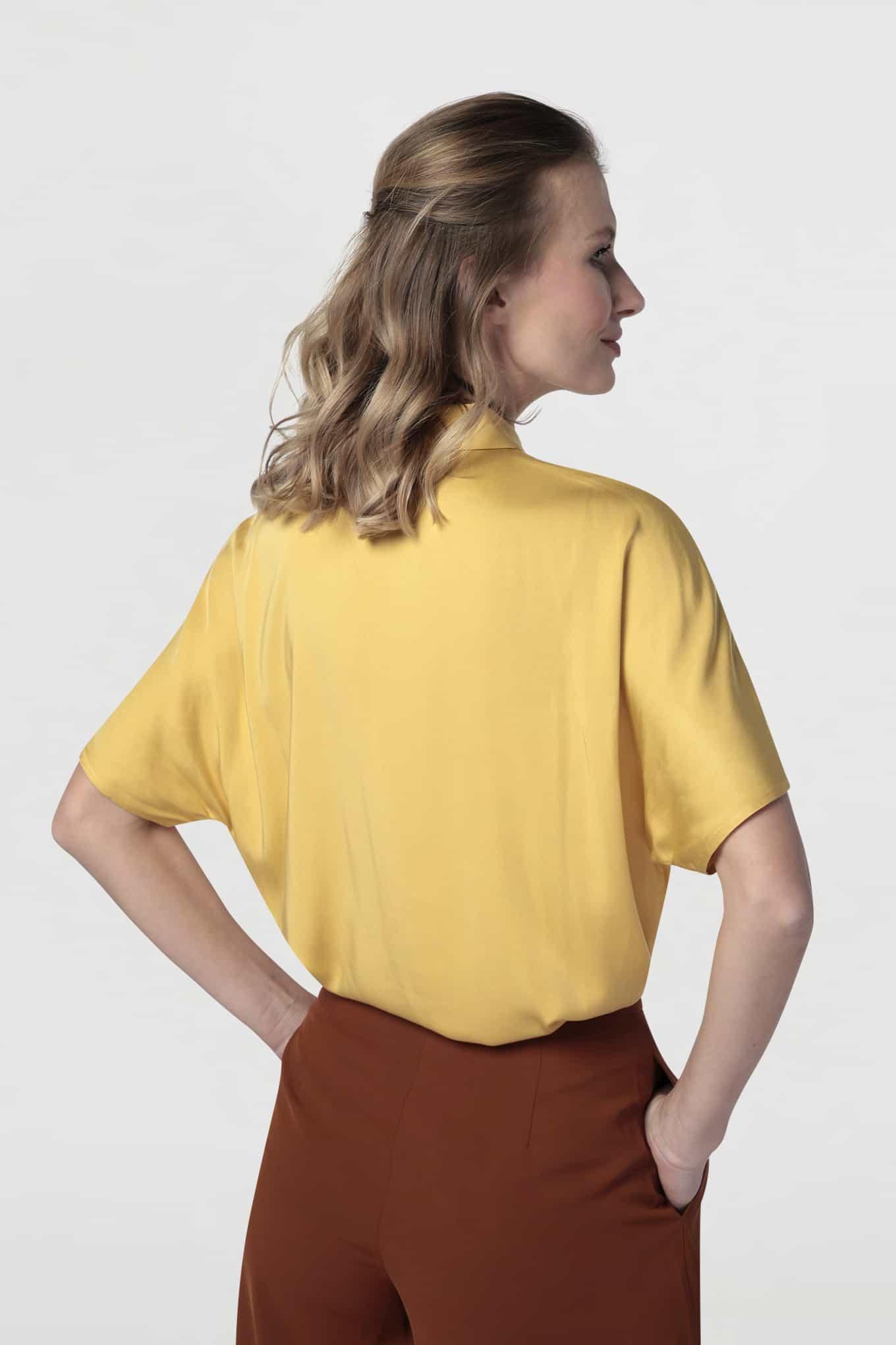 Blouse Yellow Fantasy Woman