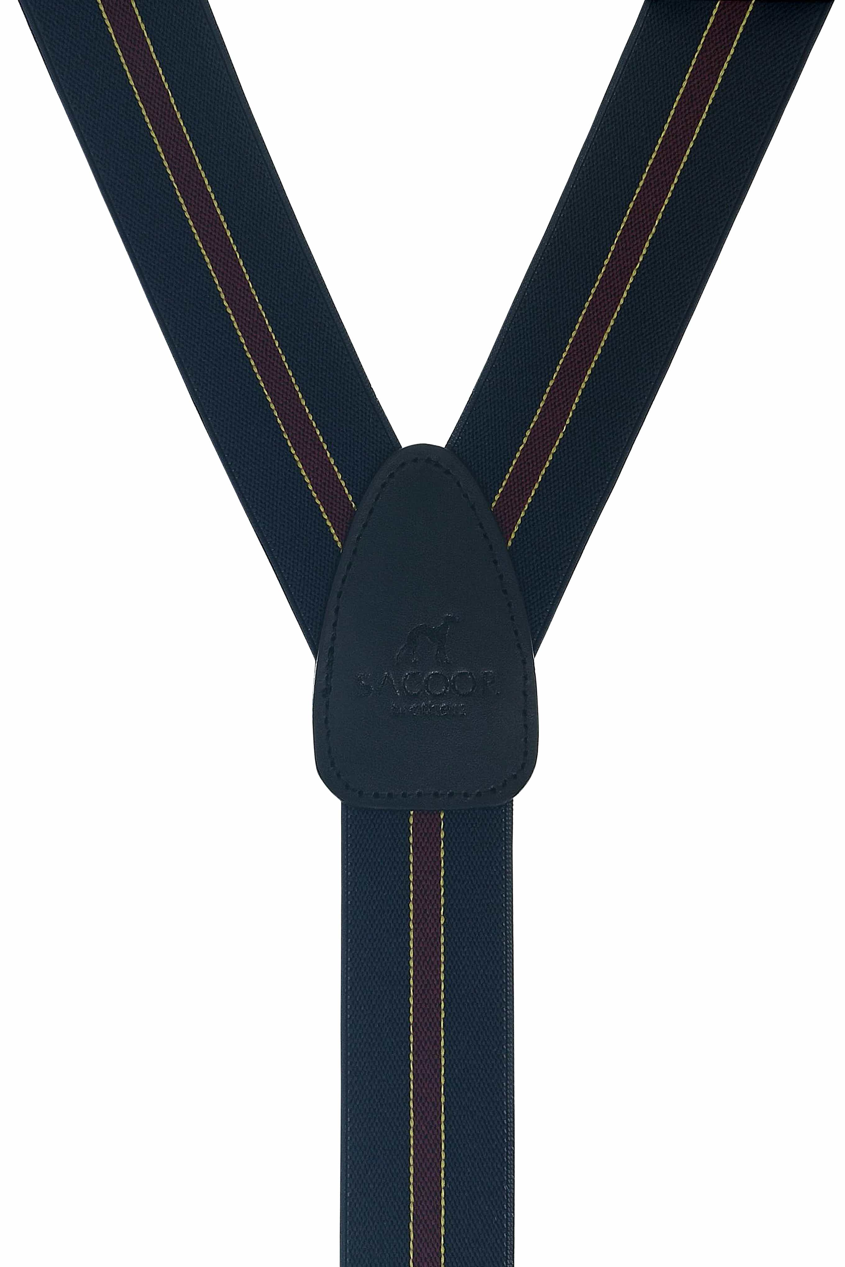 Suspenders Dark Blue Classic Man