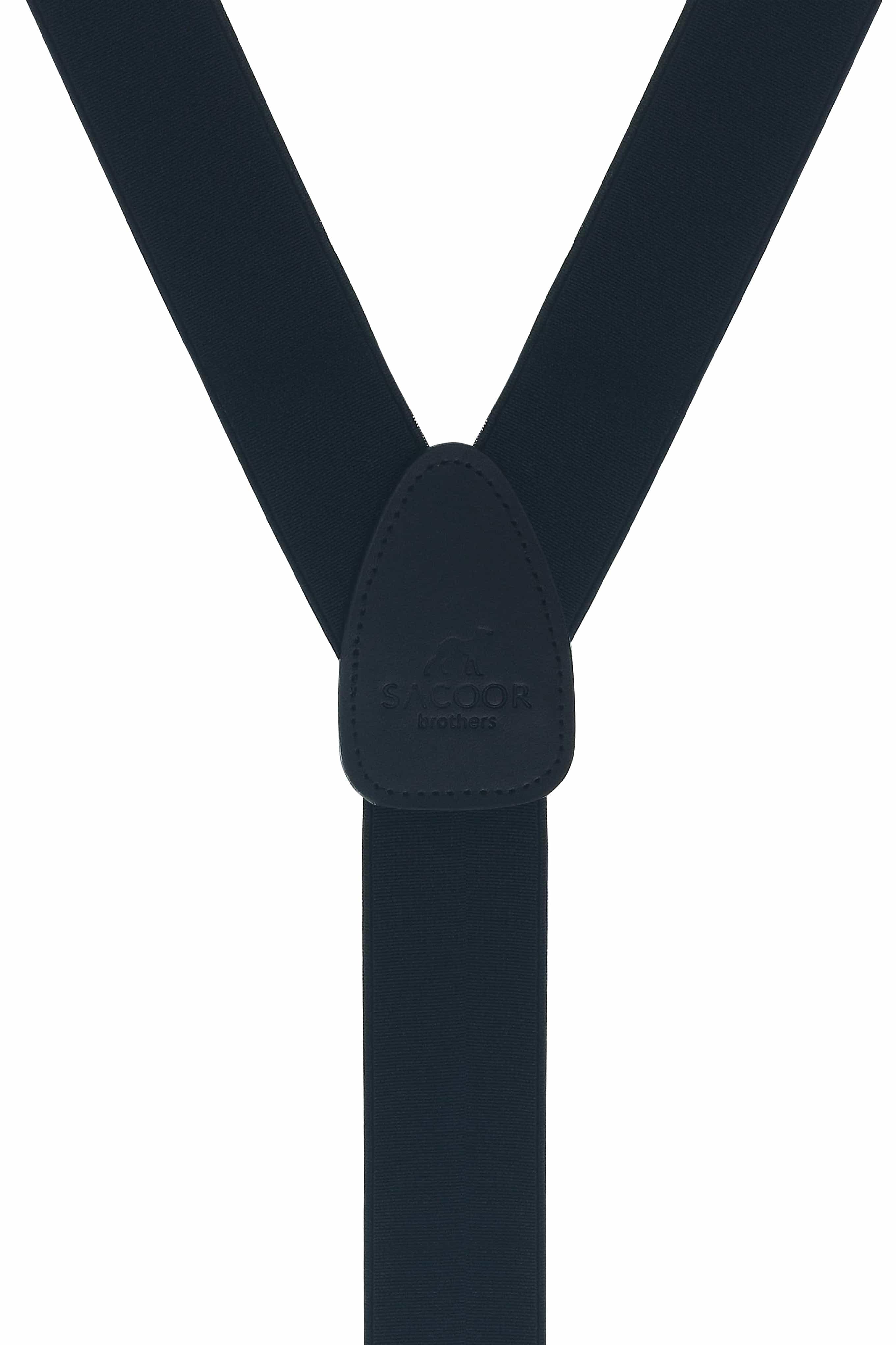 Suspenders Black Classic Man