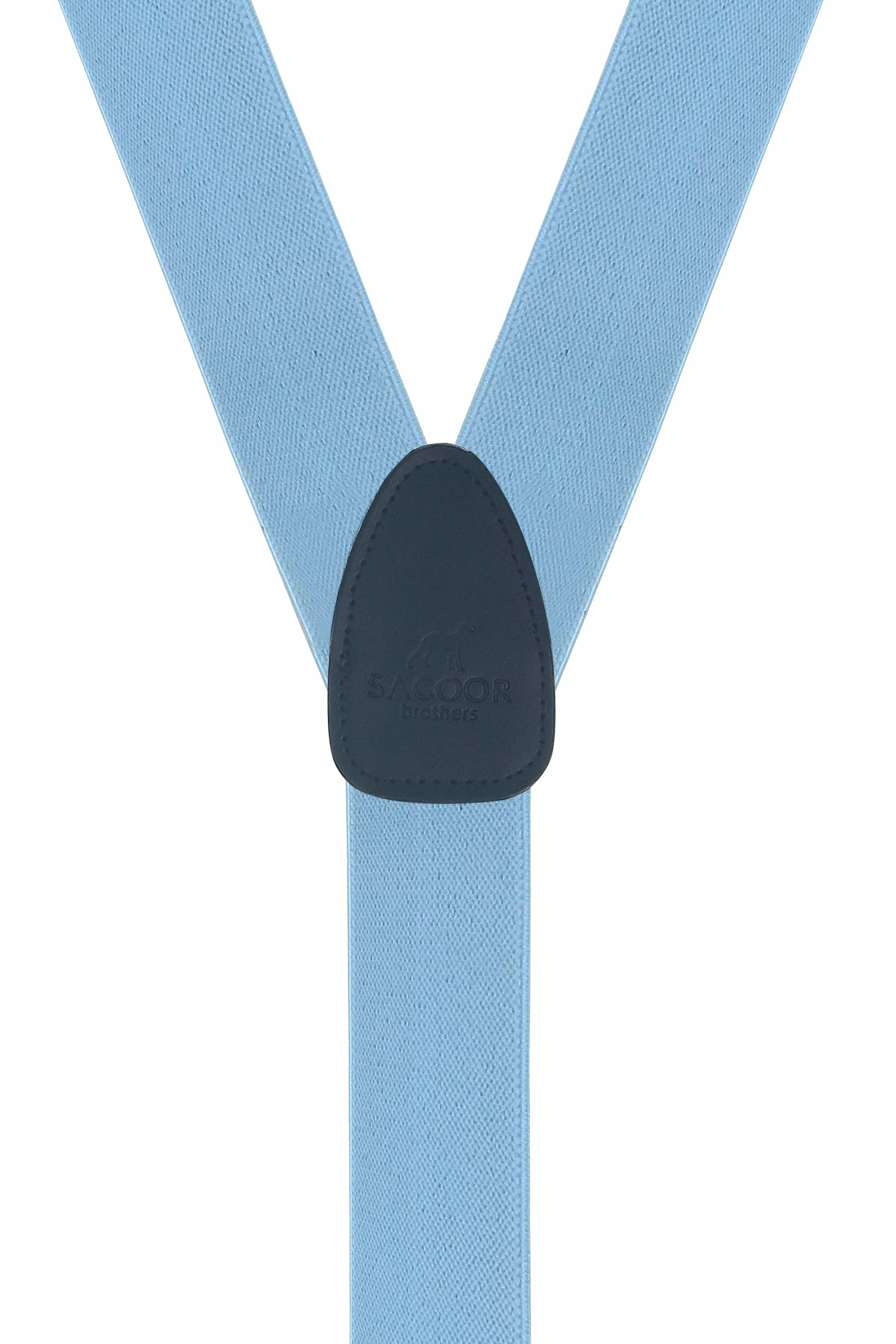 Suspenders Light Blue Classic Man